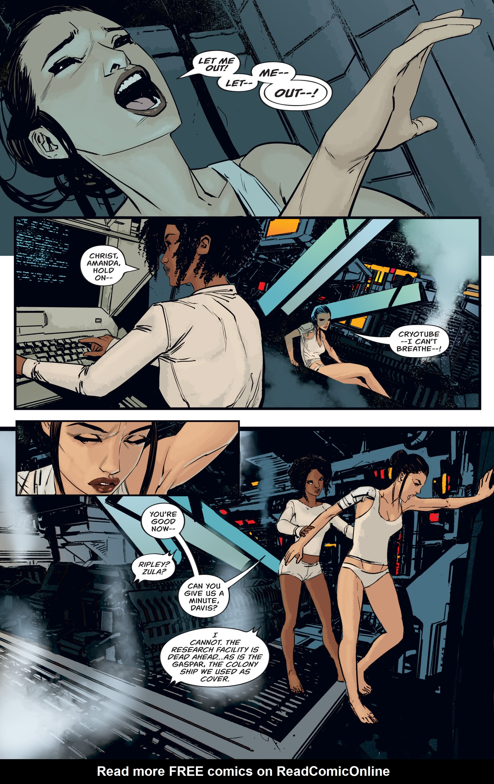 Read online Aliens: Resistance comic -  Issue # _TPB - 25