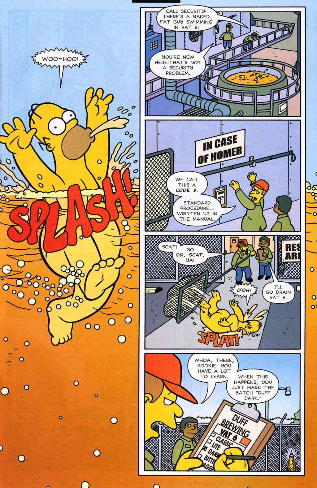Read online Simpsons Comics comic -  Issue #98 - 16