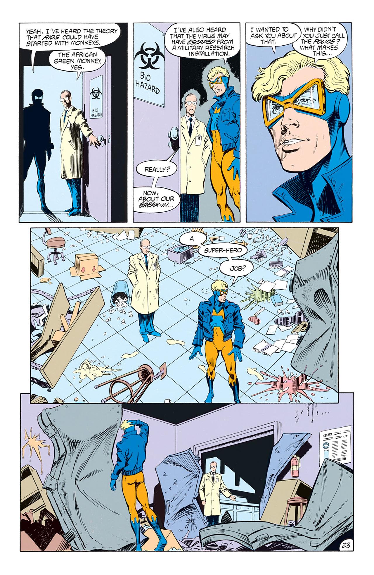 Read online Animal Man (1988) comic -  Issue #1 - 25