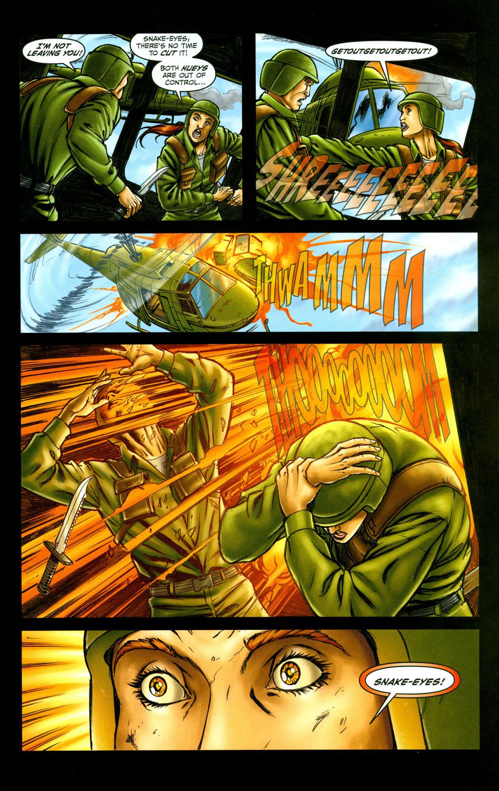 Read online Snake Eyes: Declassified comic -  Issue #6 - 13