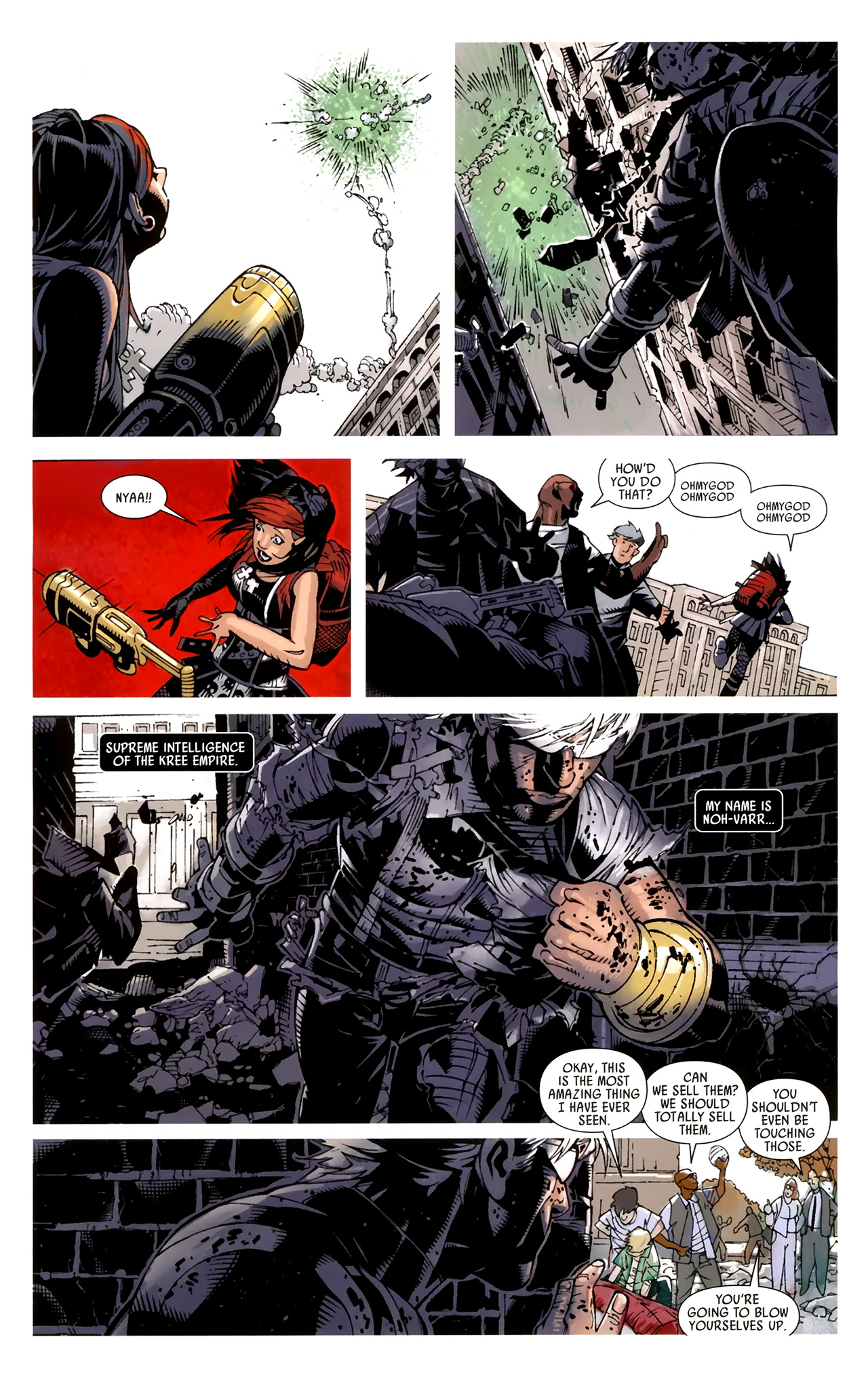 Read online Dark Avengers (2009) comic -  Issue # _Annual 1 - 17