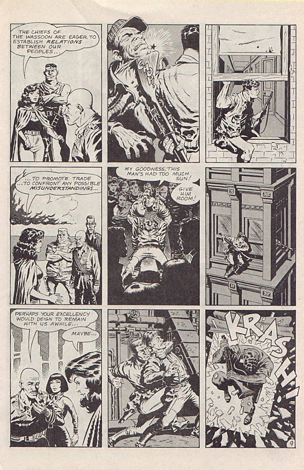 Read online Xenozoic Tales comic -  Issue #1 - 12
