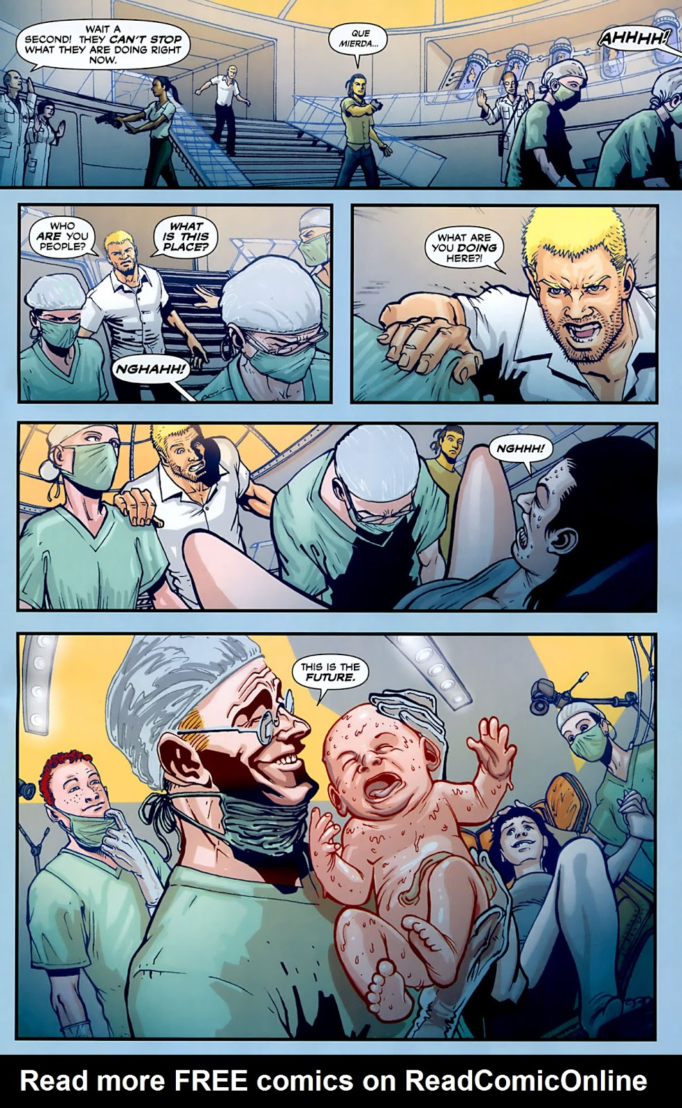 Read online Lazarus (2007) comic -  Issue #3 - 7