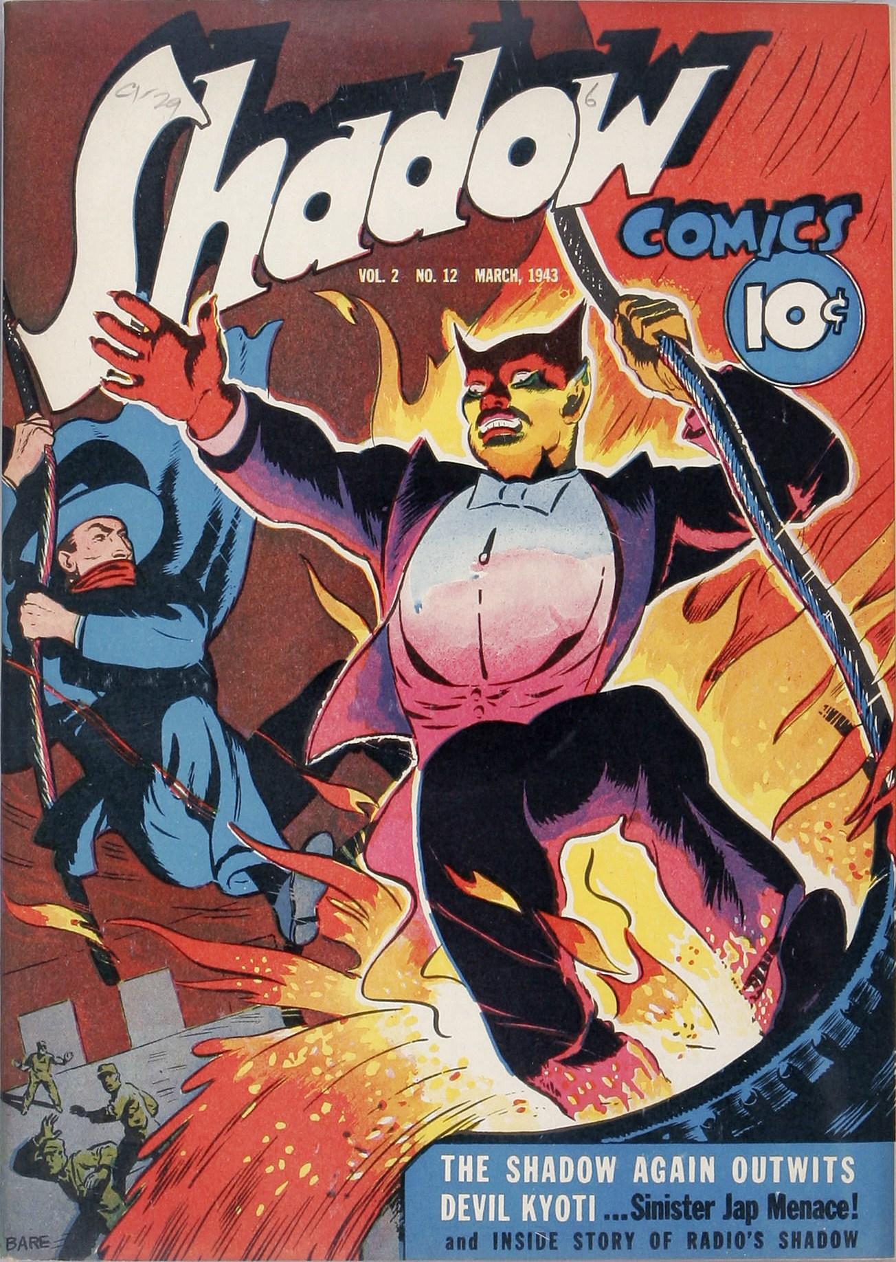 Read online Shadow Comics comic -  Issue #24 - 1