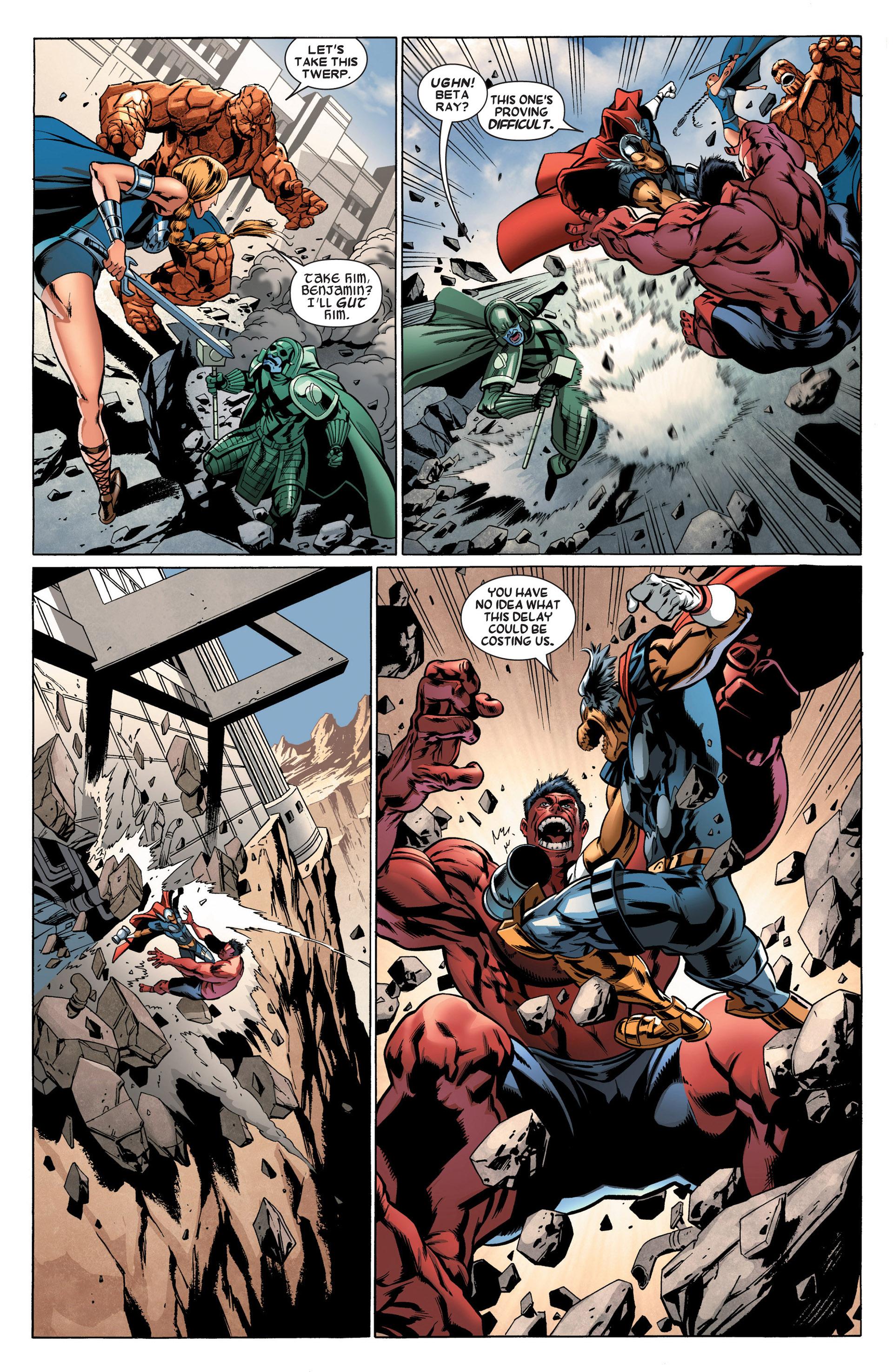 Read online Annihilators: Earthfall comic -  Issue #2 - 12