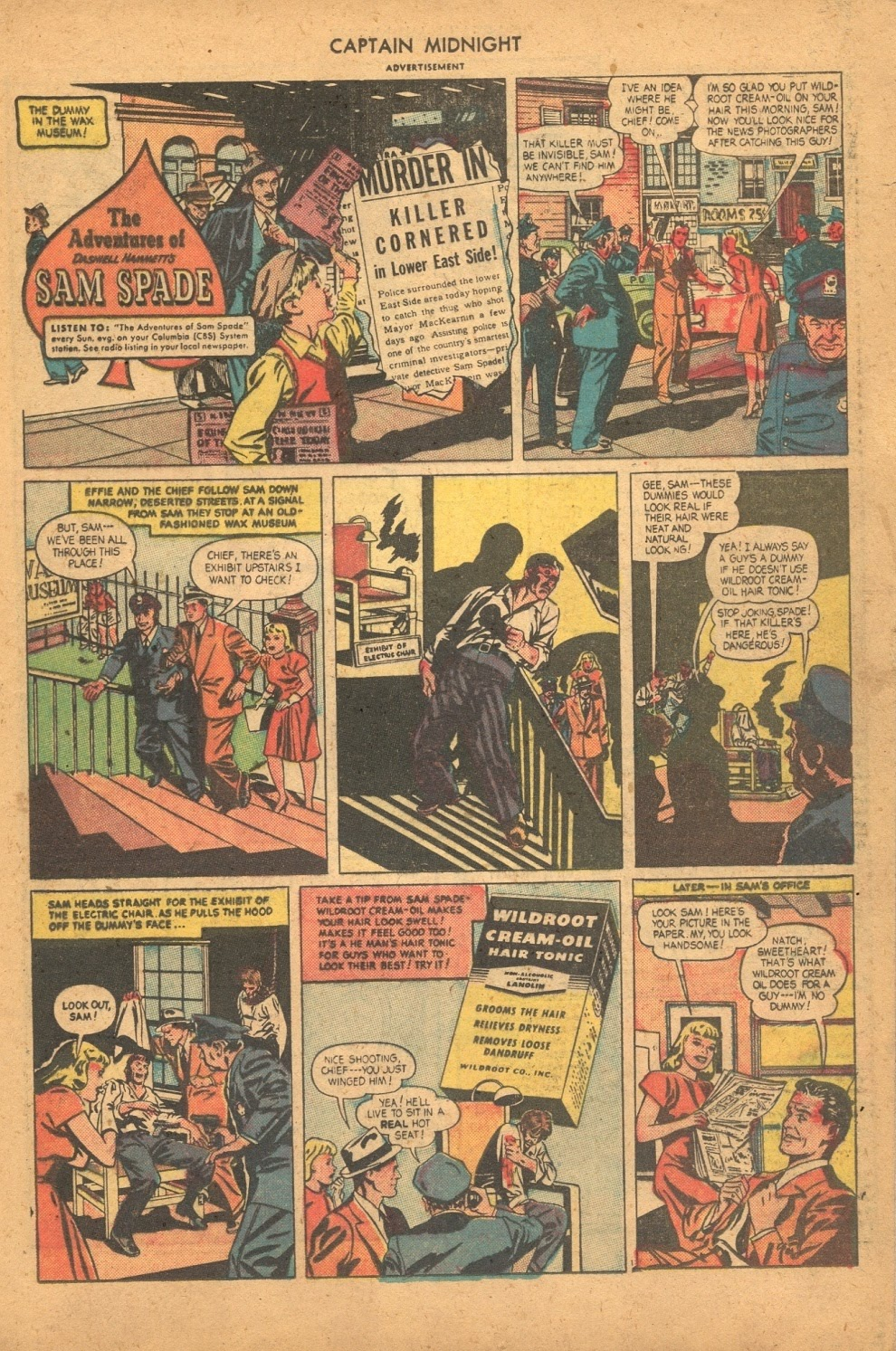 Captain Midnight (1942) issue 61 - Page 21