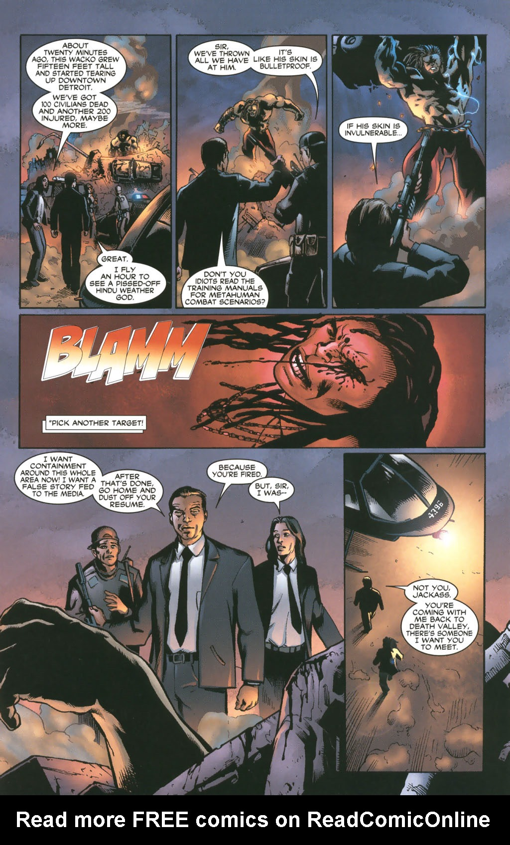 Read online 21 Down comic -  Issue #8 - 4