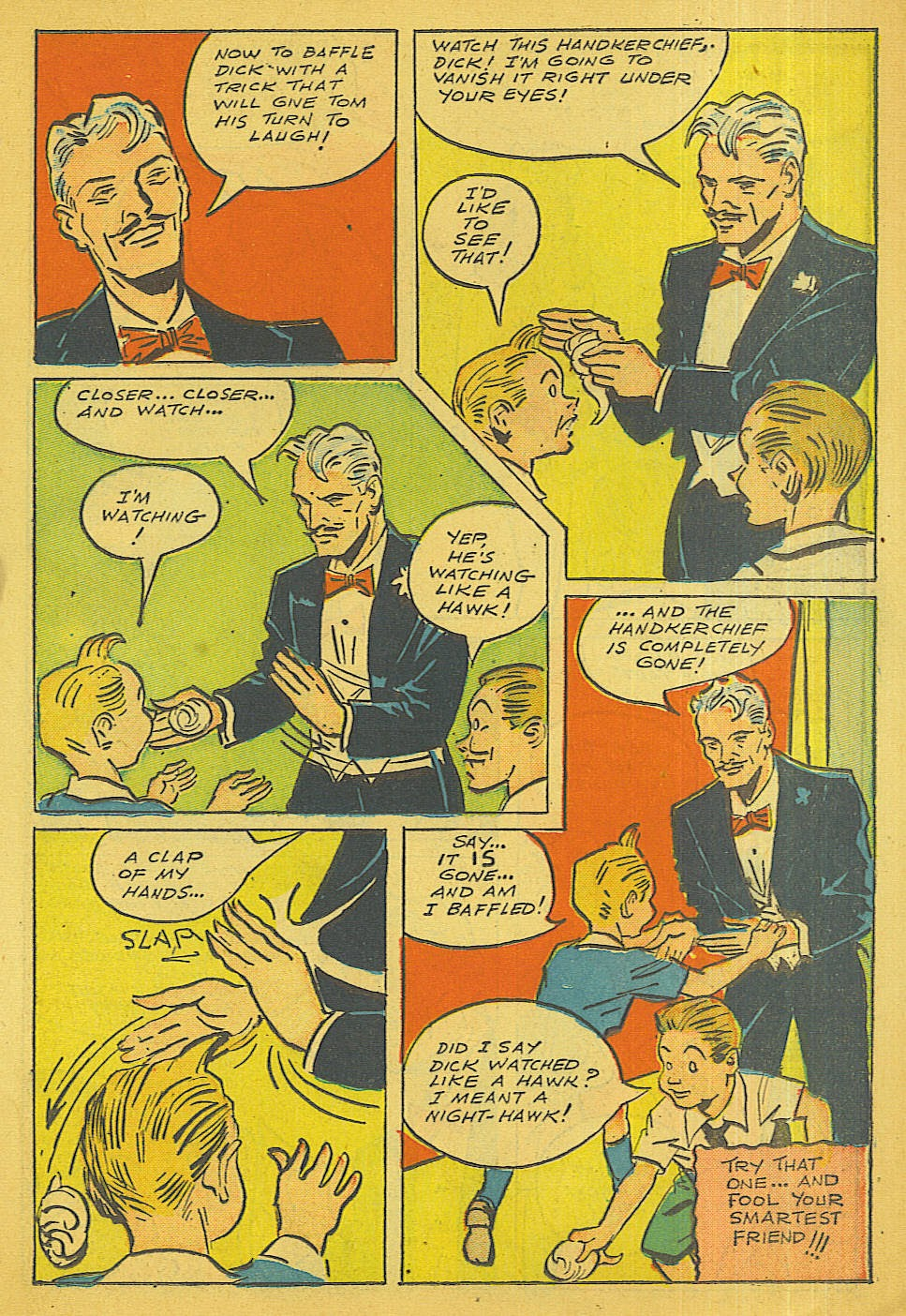 Read online Super-Magician Comics comic -  Issue #40 - 19