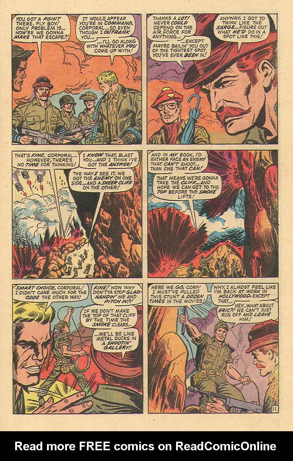Read online Sgt. Fury comic -  Issue #97 - 17