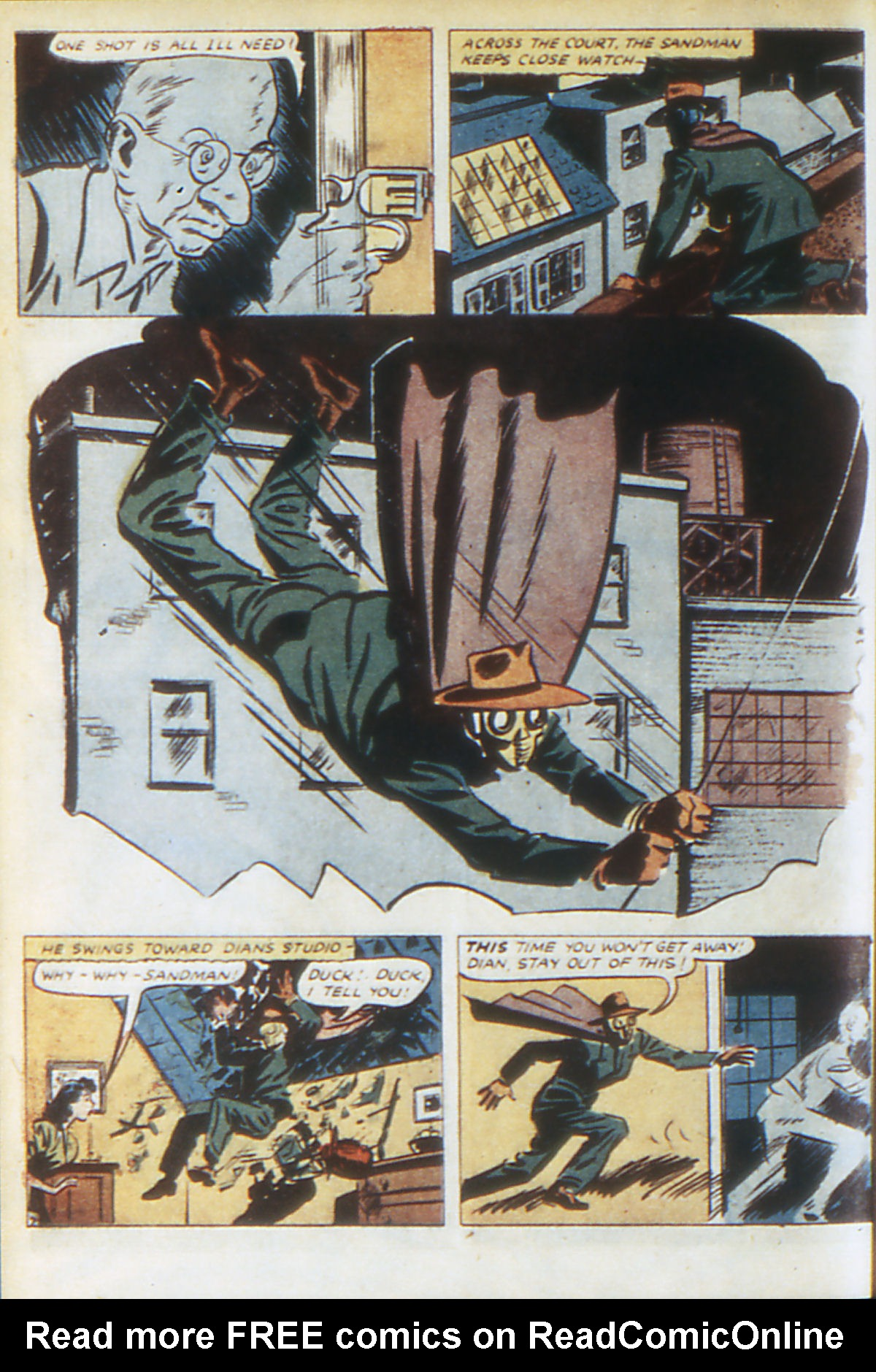 Read online Adventure Comics (1938) comic -  Issue #64 - 65