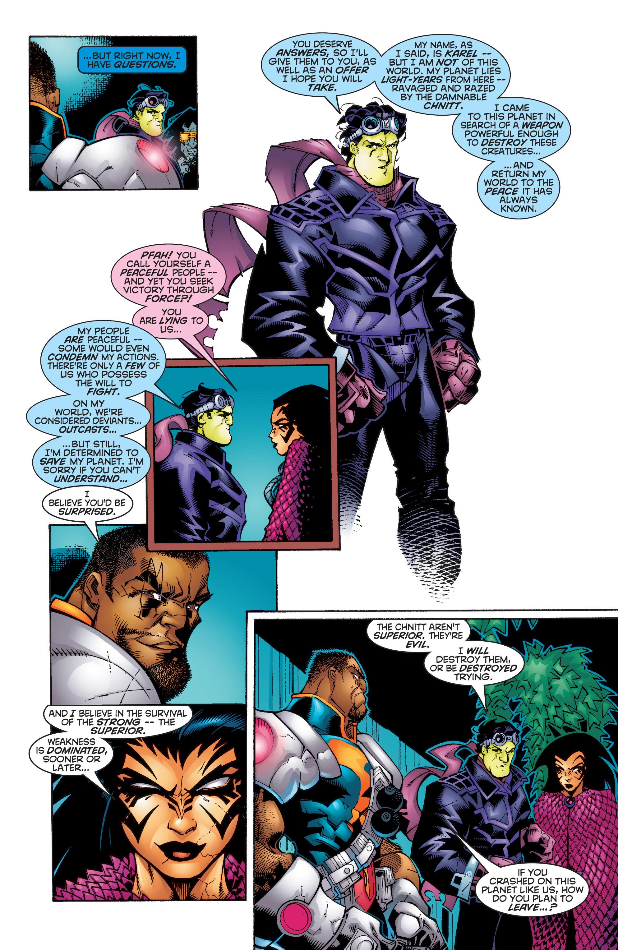 Read online Uncanny X-Men (1963) comic -  Issue #358 - 7