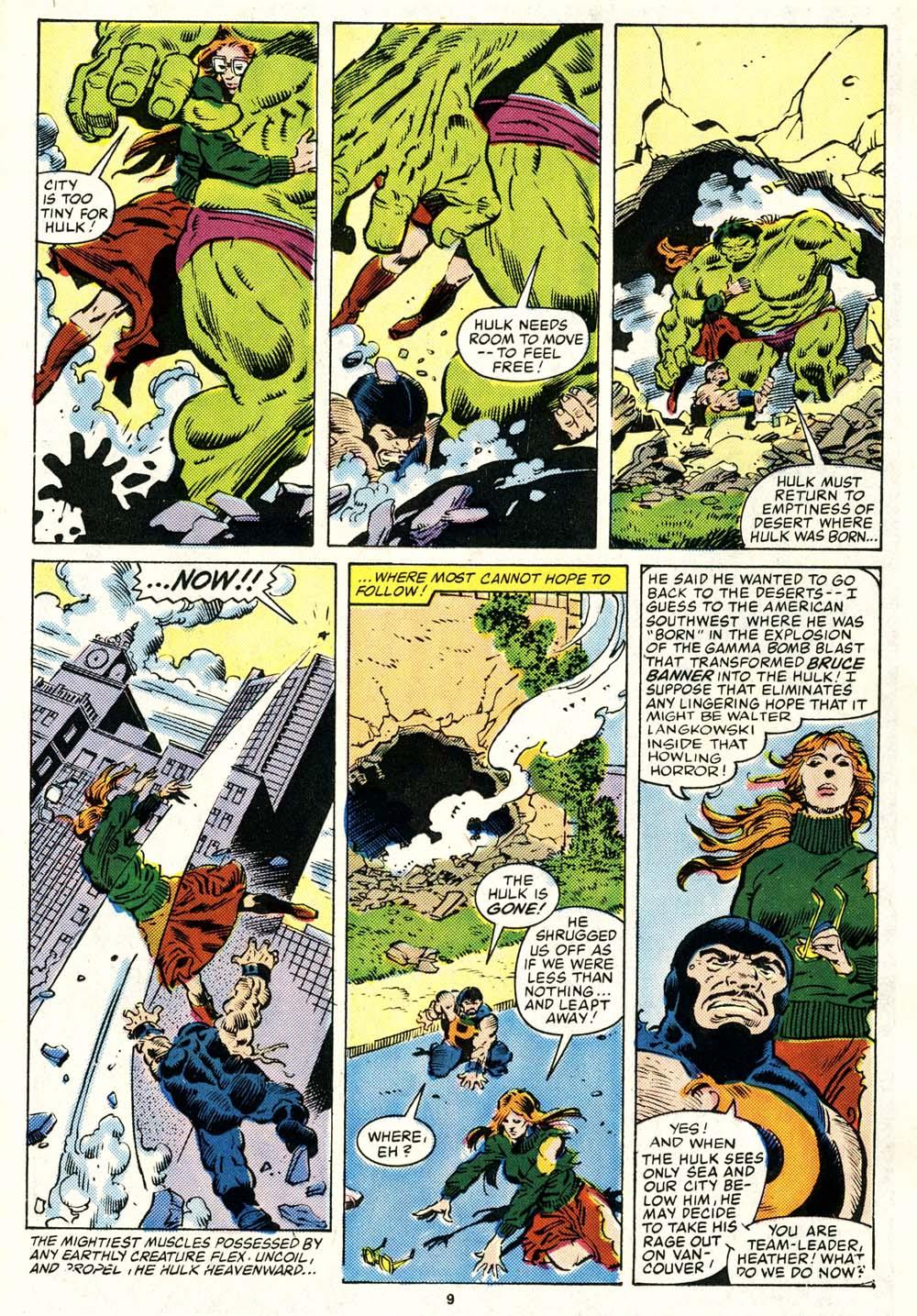 Read online Alpha Flight (1983) comic -  Issue #29 - 9