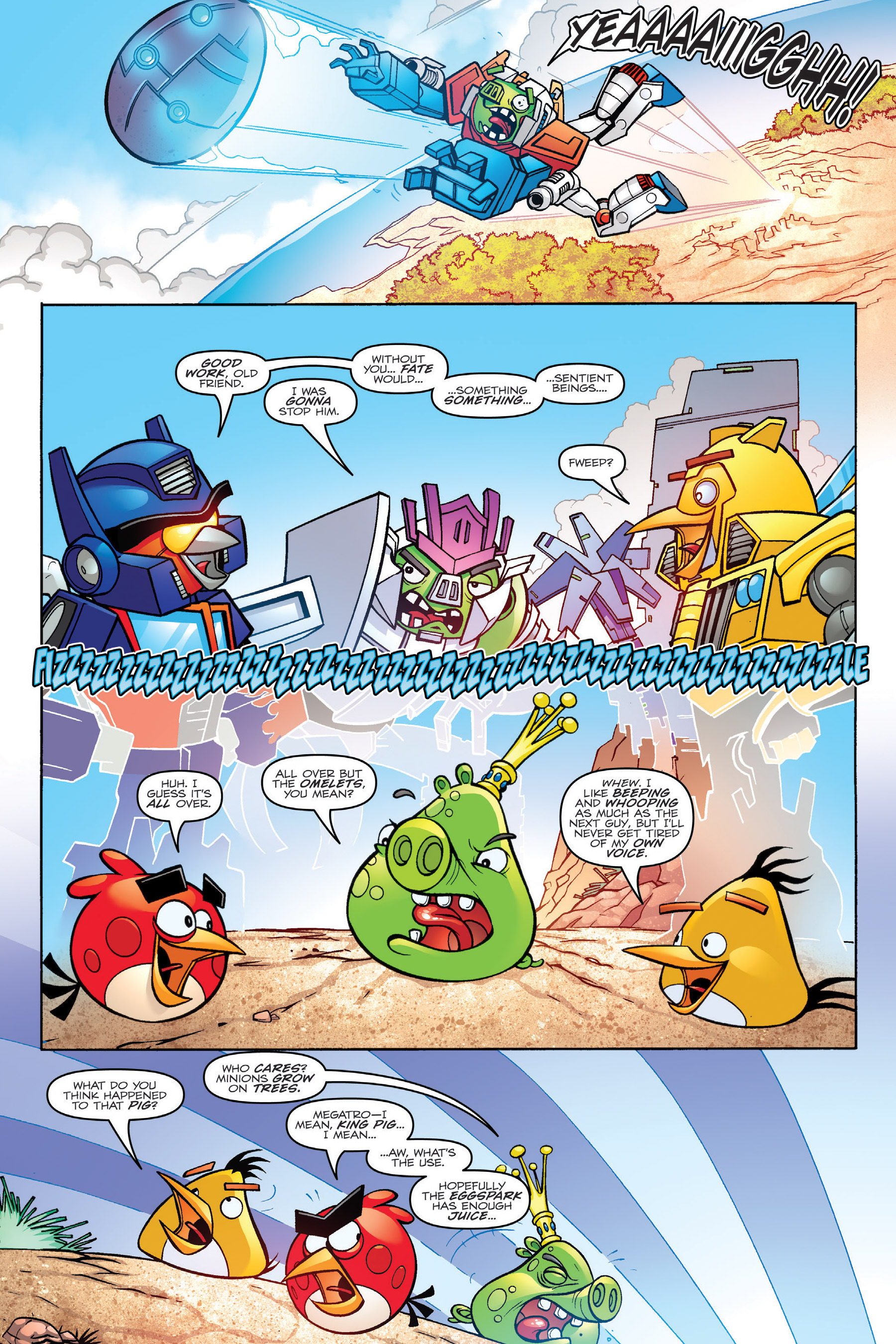 Read online Angry Birds Transformers: Age of Eggstinction comic -  Issue # Full - 87