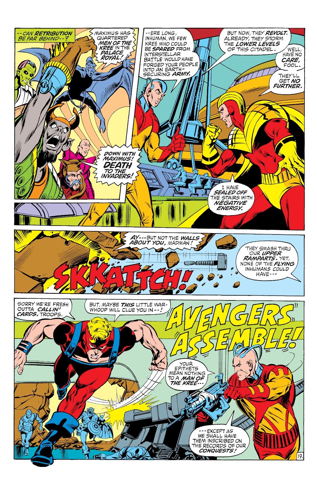 Read online Marvel Masterworks: The Inhumans comic -  Issue # TPB 1 (Part 3) - 14
