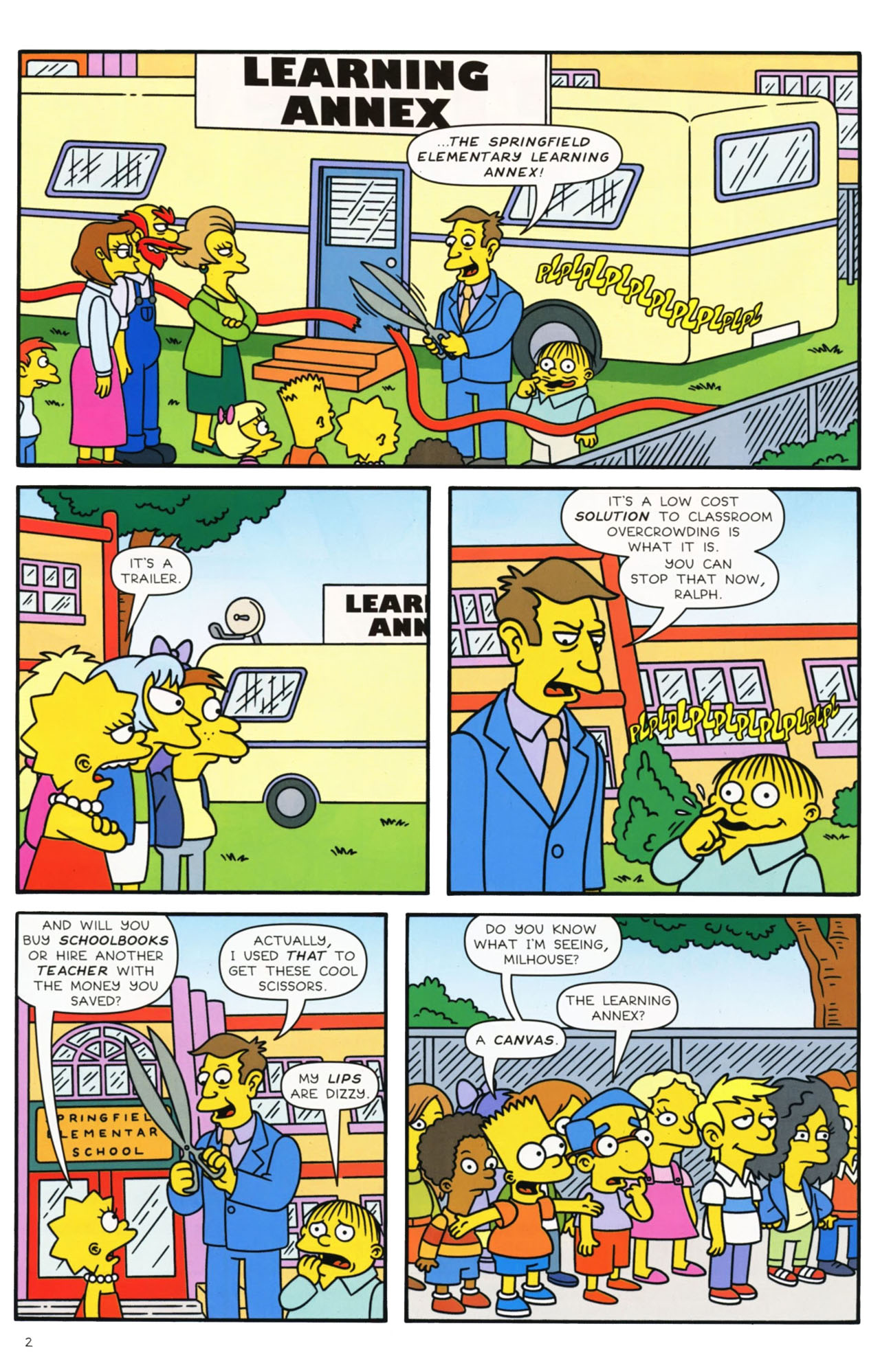 Read online Simpsons Comics comic -  Issue #169 - 3