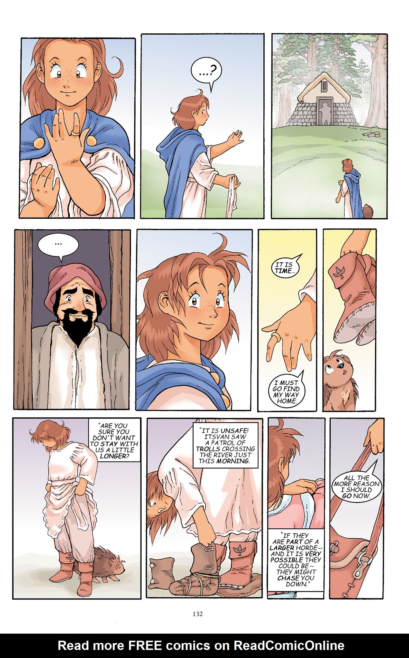 Read online Courageous Princess comic -  Issue # TPB 1 - 131