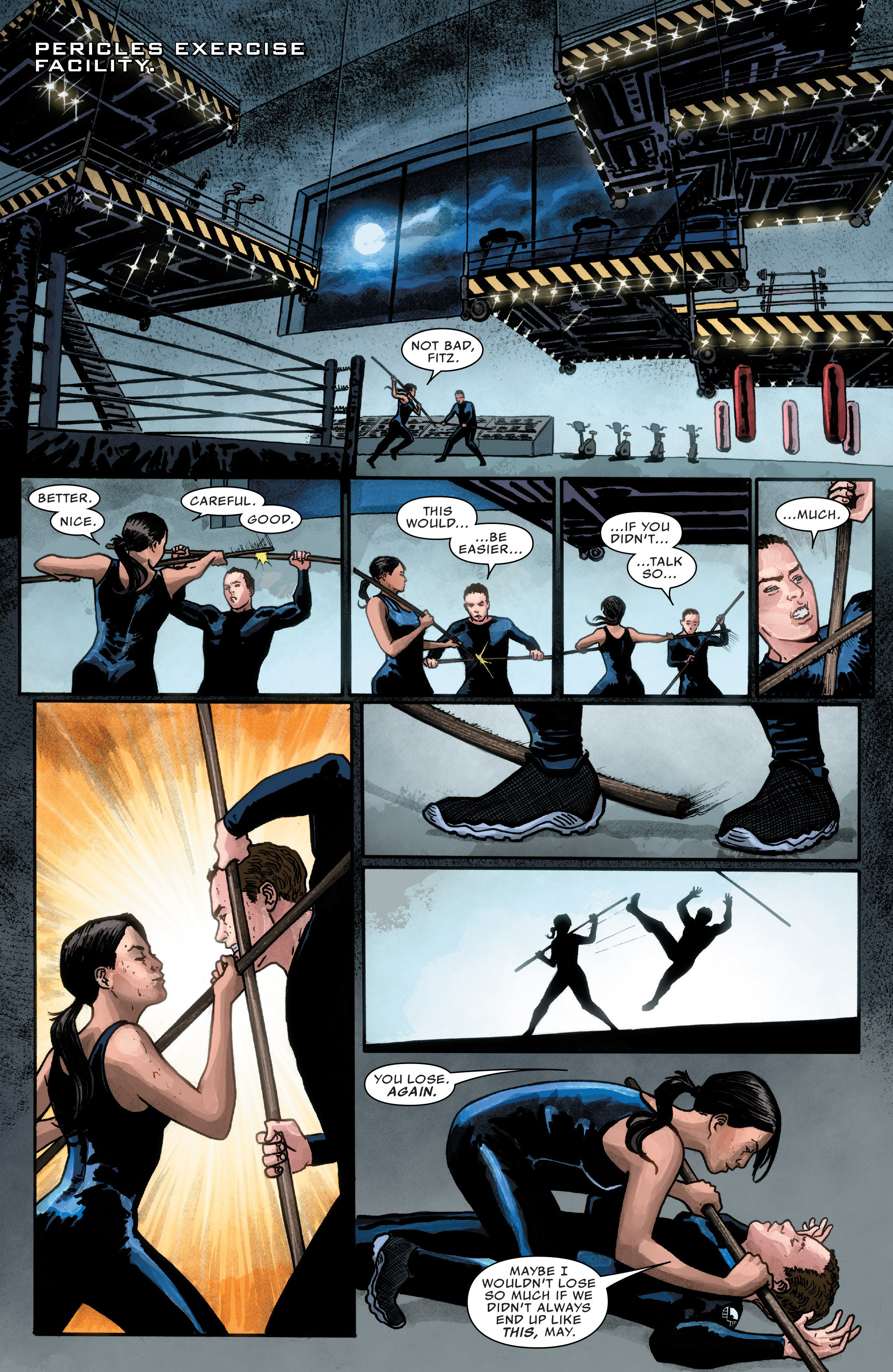 Read online Agents of S.H.I.E.L.D. comic -  Issue #1 - 13
