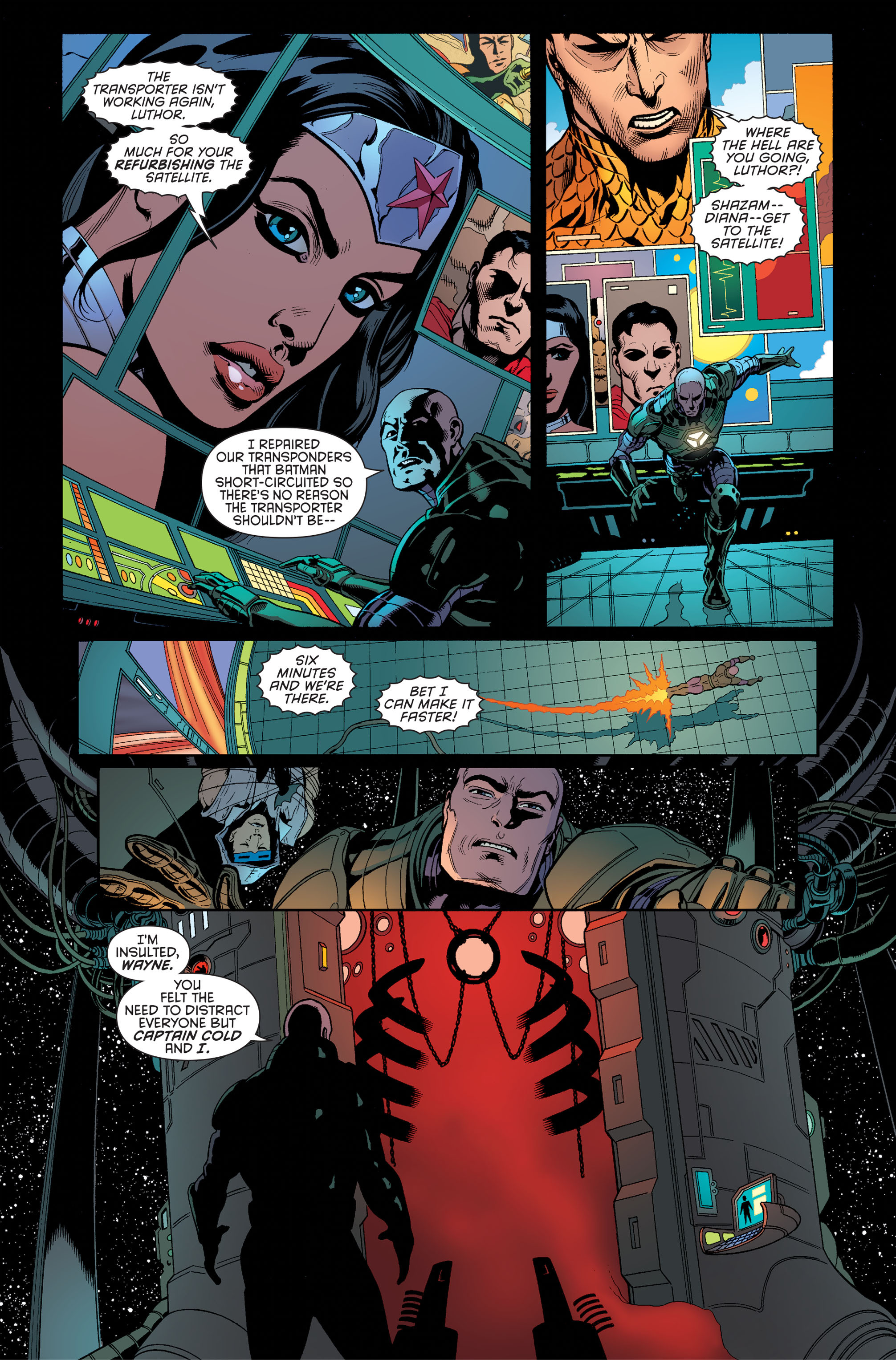 Read online Batman and Robin (2011) comic -  Issue #34 - 16