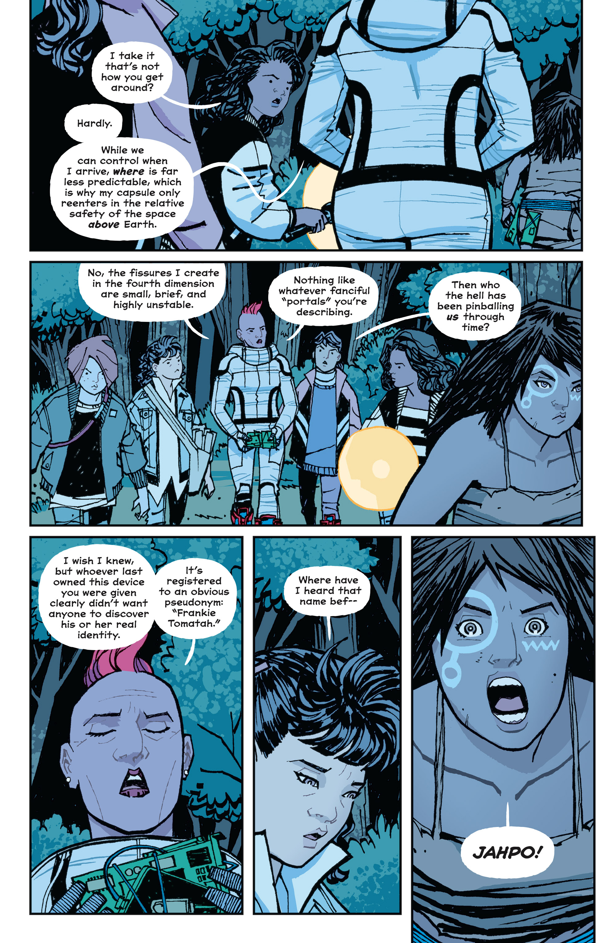 Read online Paper Girls comic -  Issue #15 - 16