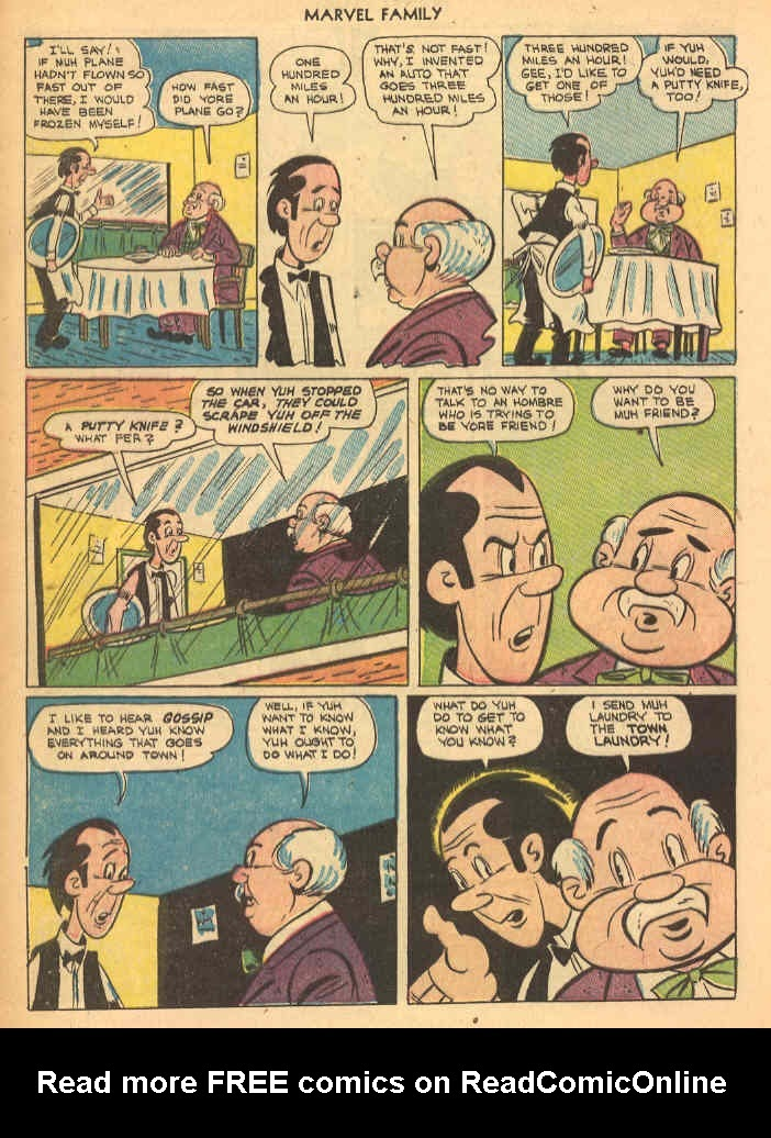 The Marvel Family issue 69 - Page 28