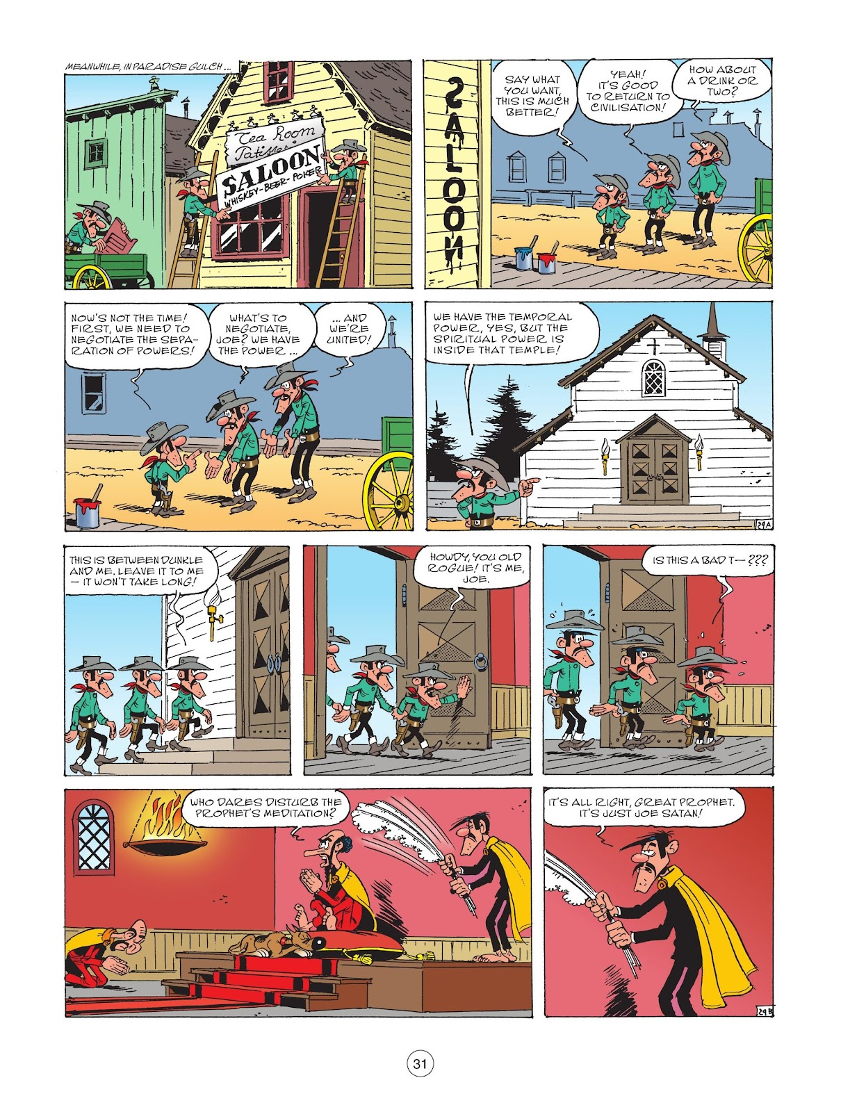 A Lucky Luke Adventure issue 73 - Page 33