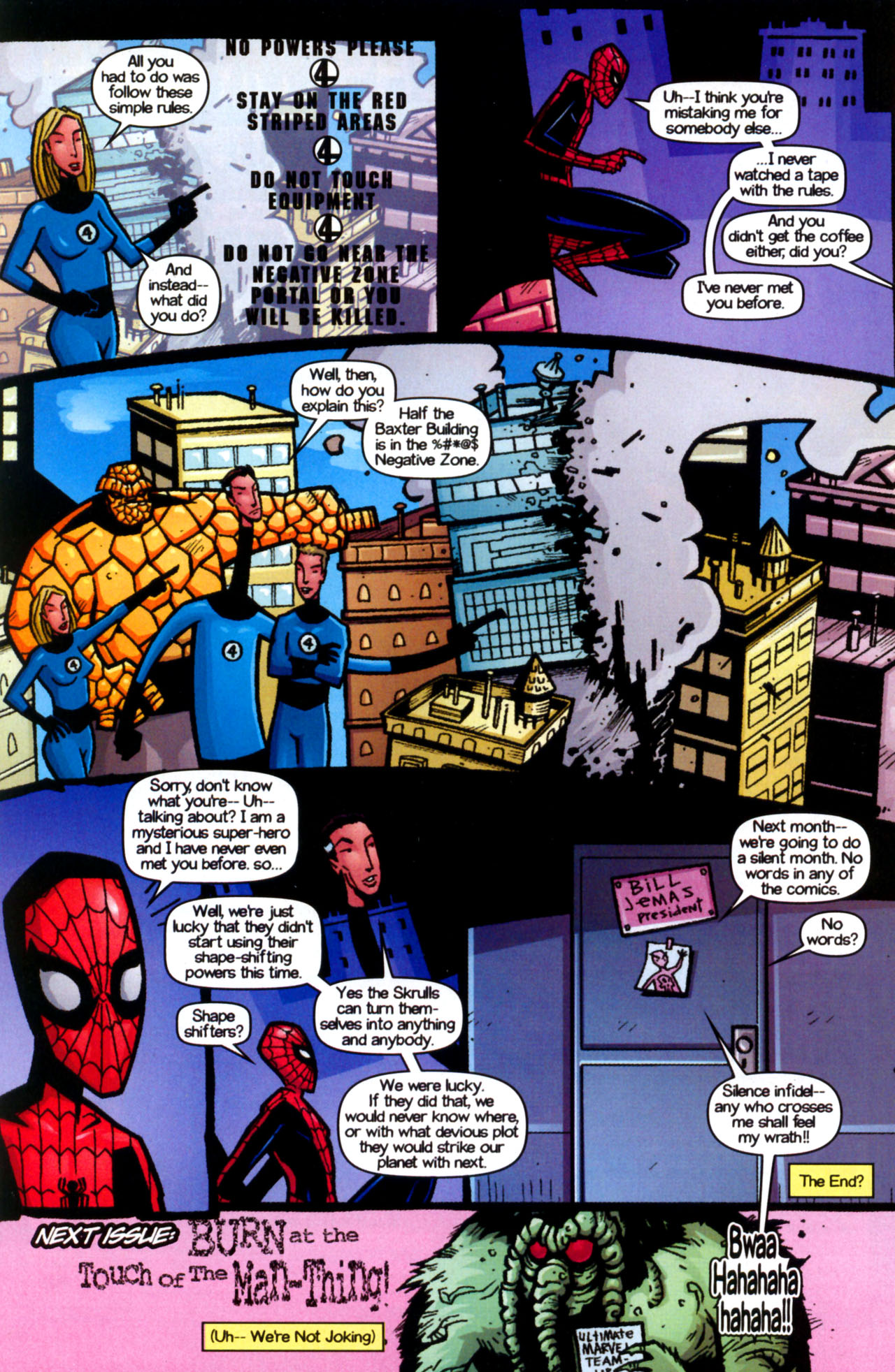 Read online Ultimate Marvel Team-Up comic -  Issue #9 - 30