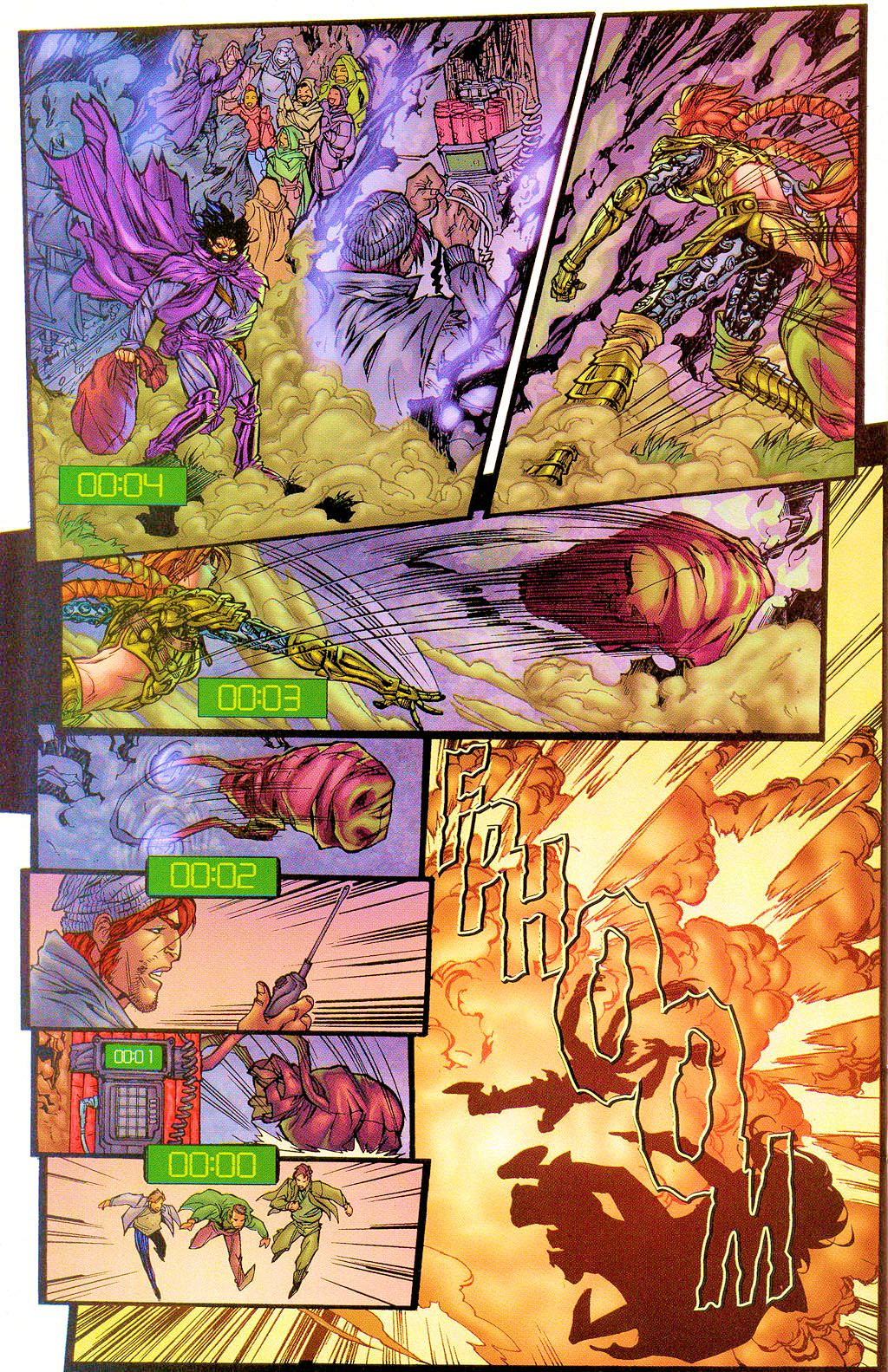 Read online Lady Pendragon / More Than Mortal comic -  Issue #1 - 26