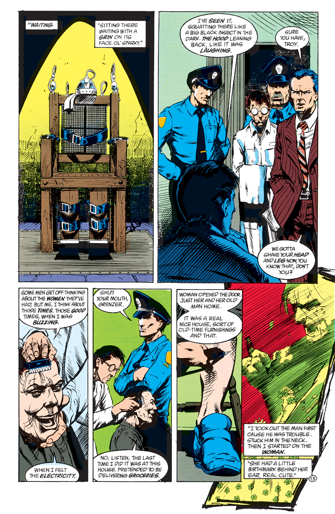 Read online Shade, the Changing Man comic -  Issue #1 - 15