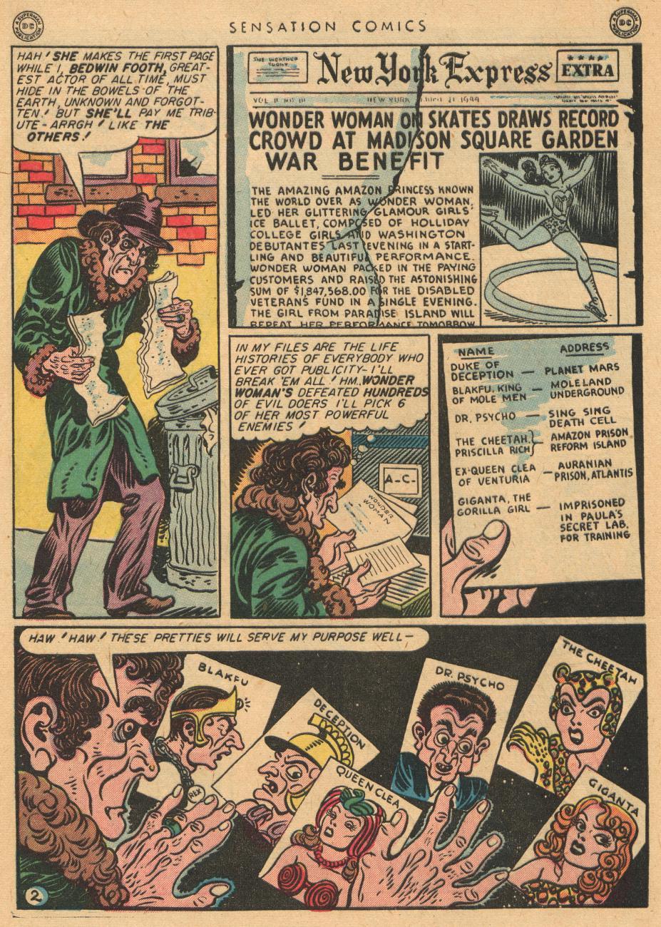 Read online Sensation (Mystery) Comics comic -  Issue #36 - 4