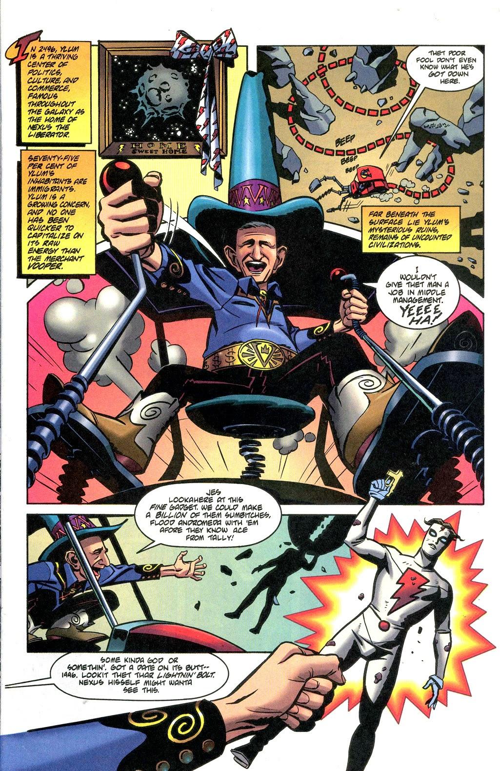 Read online Nexus Meets Madman comic -  Issue # Full - 3