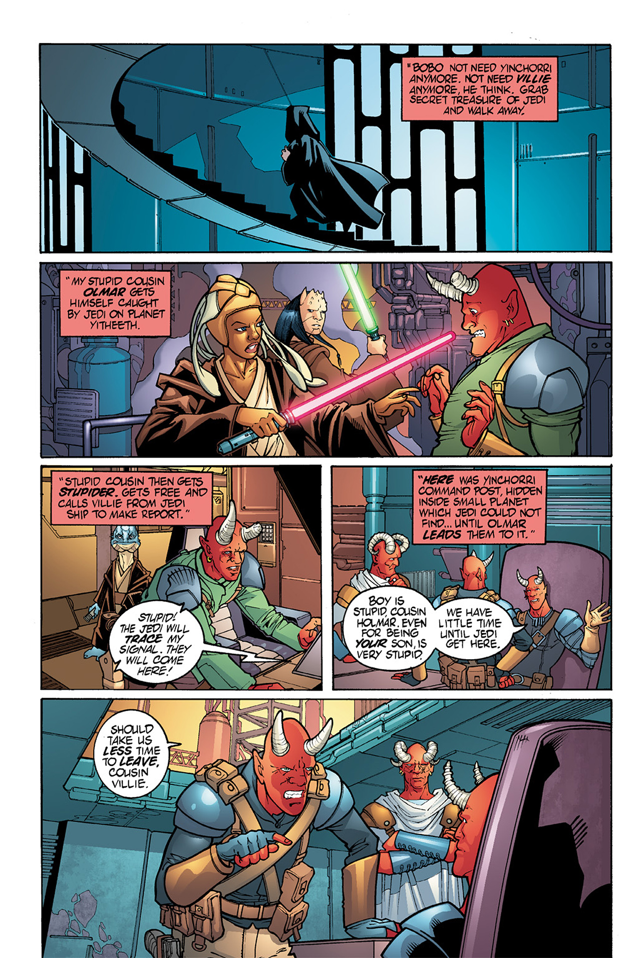 Read online Star Wars Omnibus comic -  Issue # Vol. 15.5 - 113