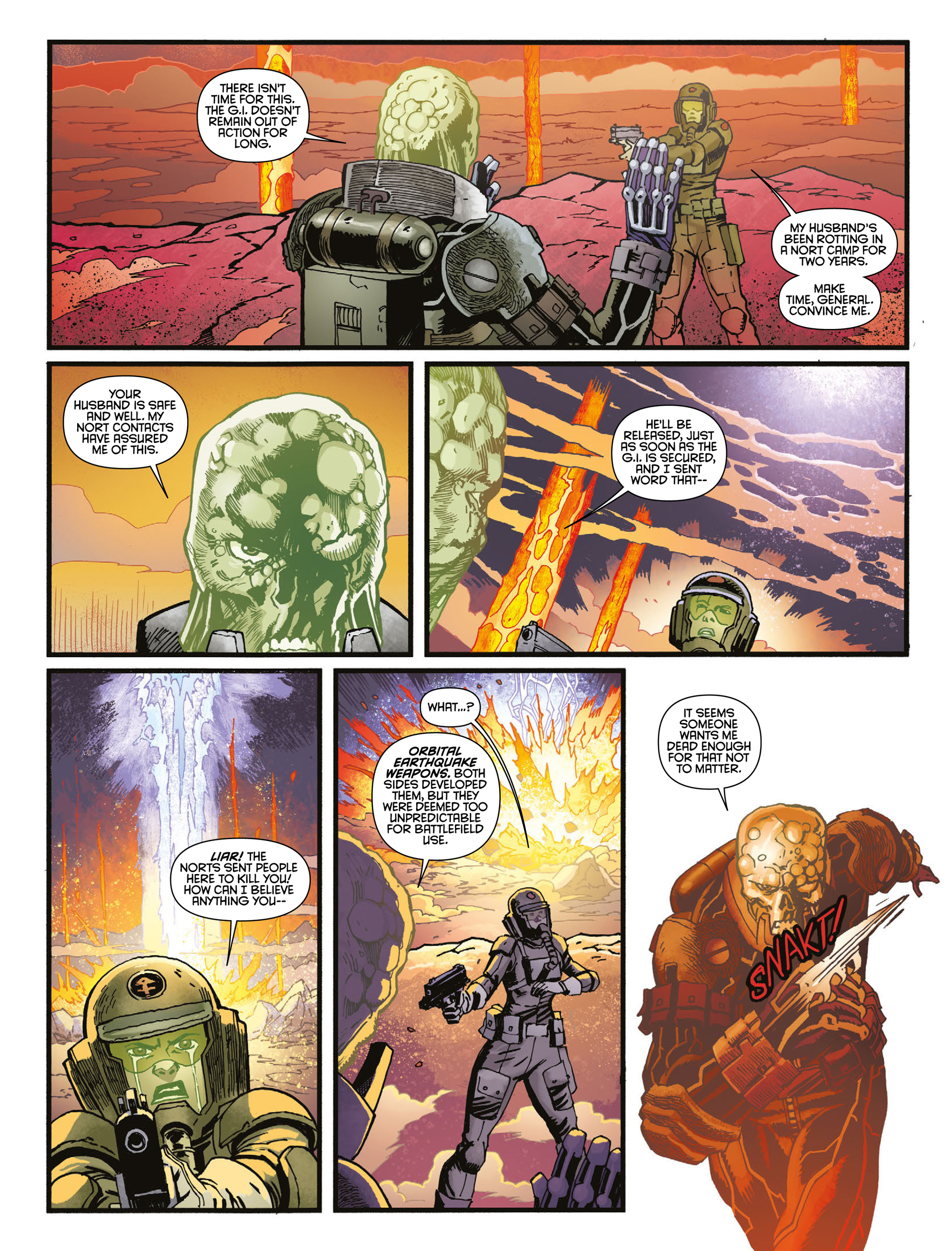 Read online 2000 AD comic -  Issue #2009 - 17