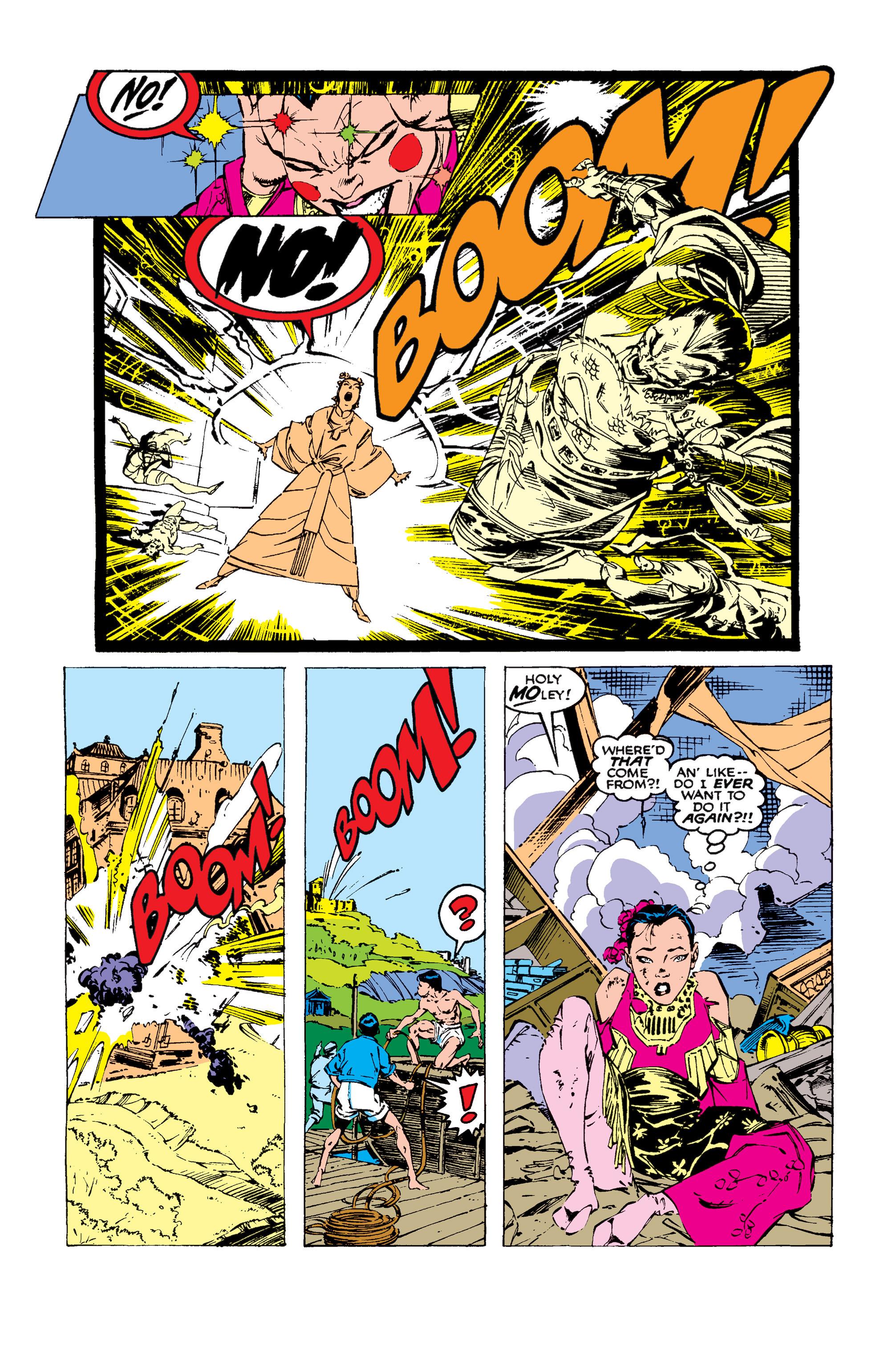 Read online Uncanny X-Men (1963) comic -  Issue #258 - 19