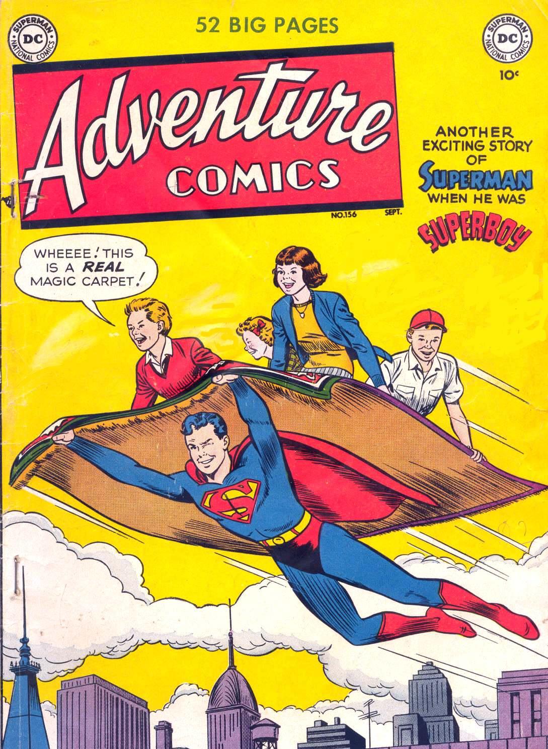 Adventure Comics (1938) 156 Page 1