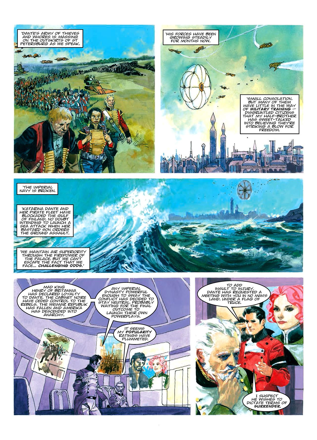 Read online Nikolai Dante comic -  Issue # TPB 10 - 33