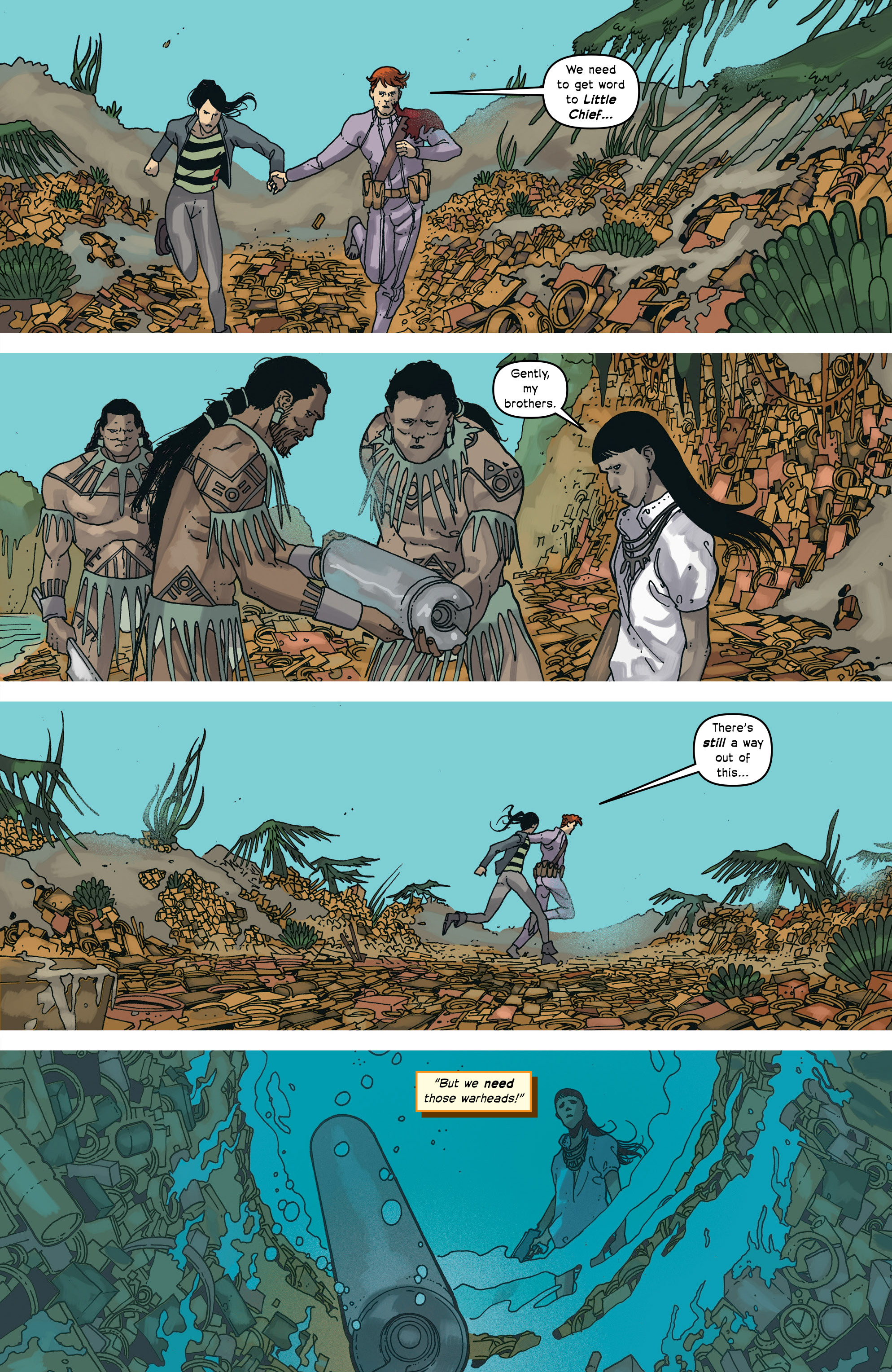 Read online Great Pacific comic -  Issue #17 - 23