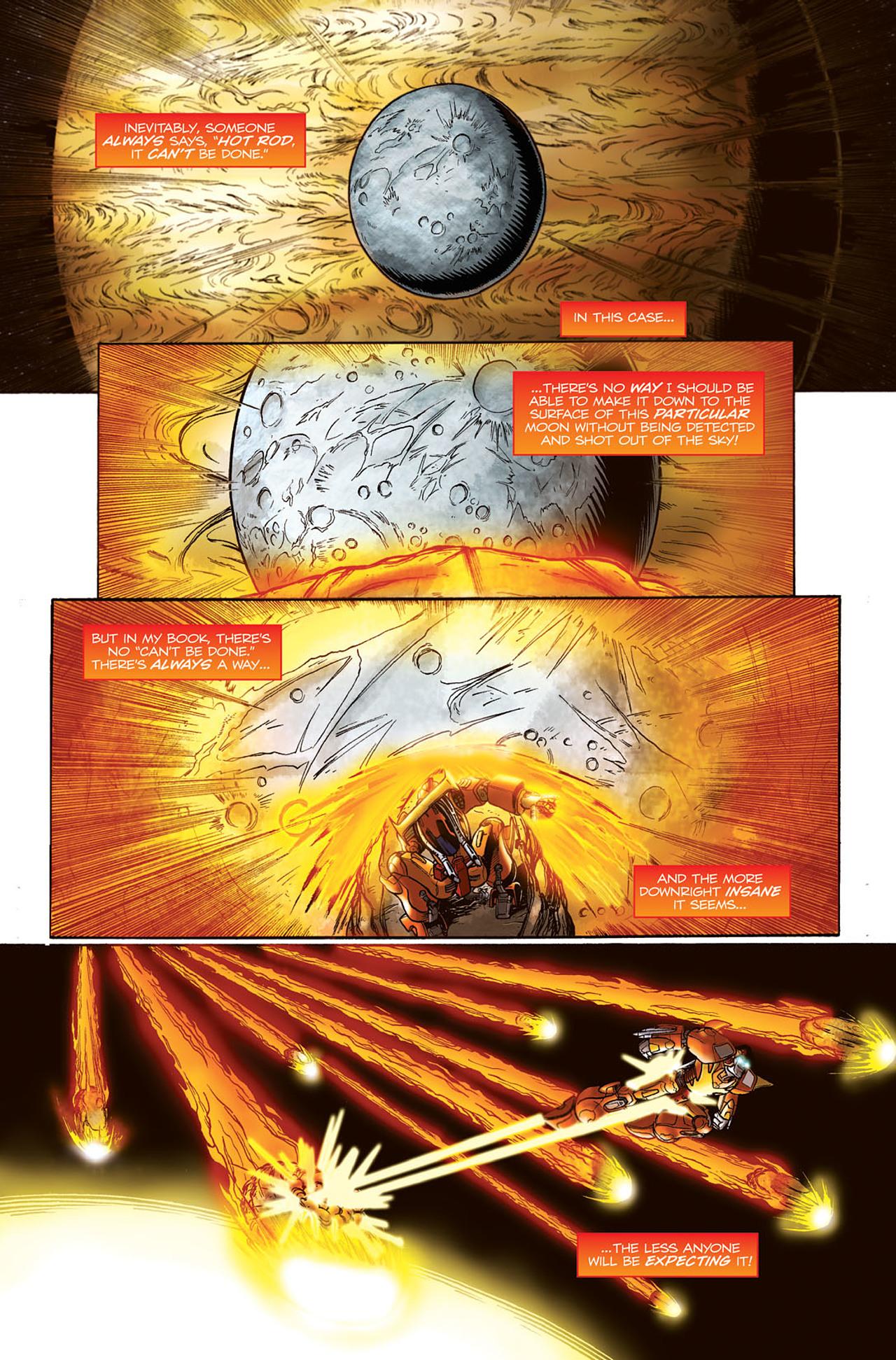 Read online Transformers Spotlight: Hot Rod comic -  Issue # Full - 3