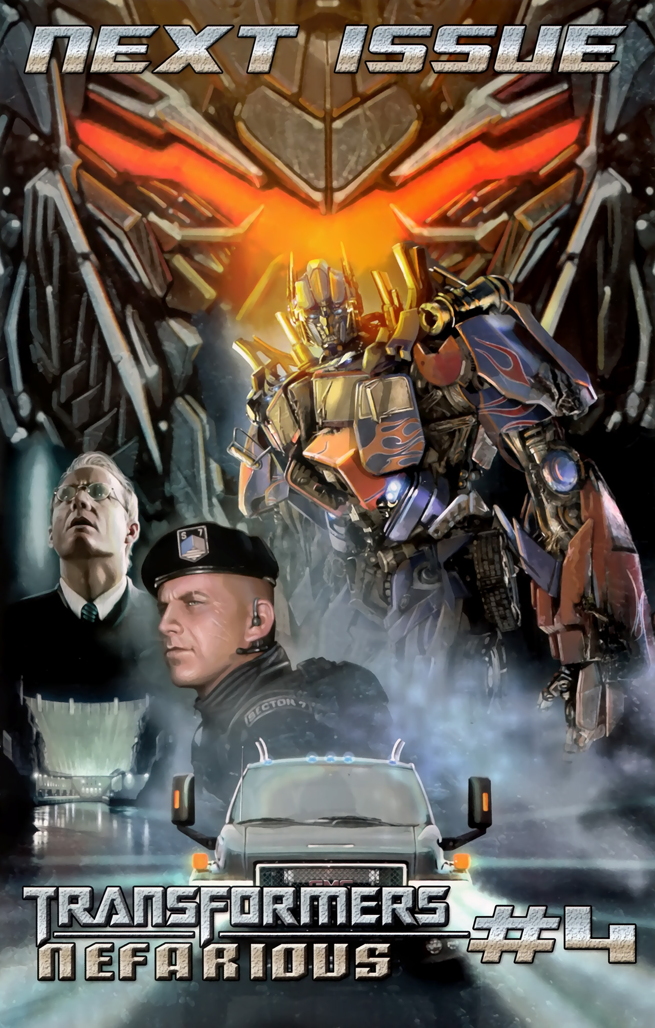 Read online Transformers: Nefarious comic -  Issue #3 - 26