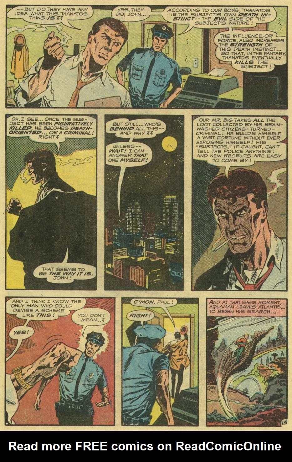 Read online Aquaman (1962) comic -  Issue #54 - 17