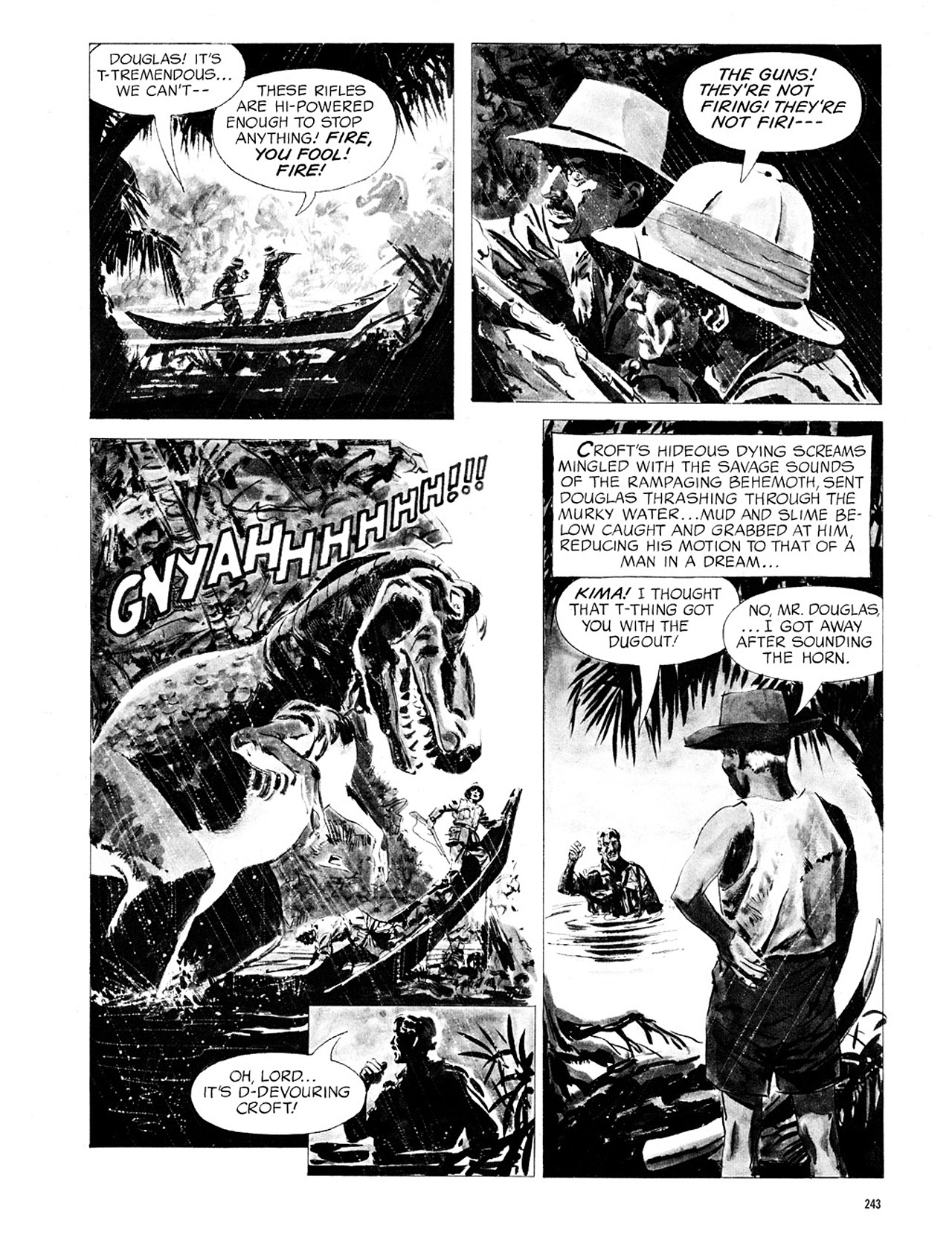 Read online Eerie Archives comic -  Issue # TPB 1 - 244