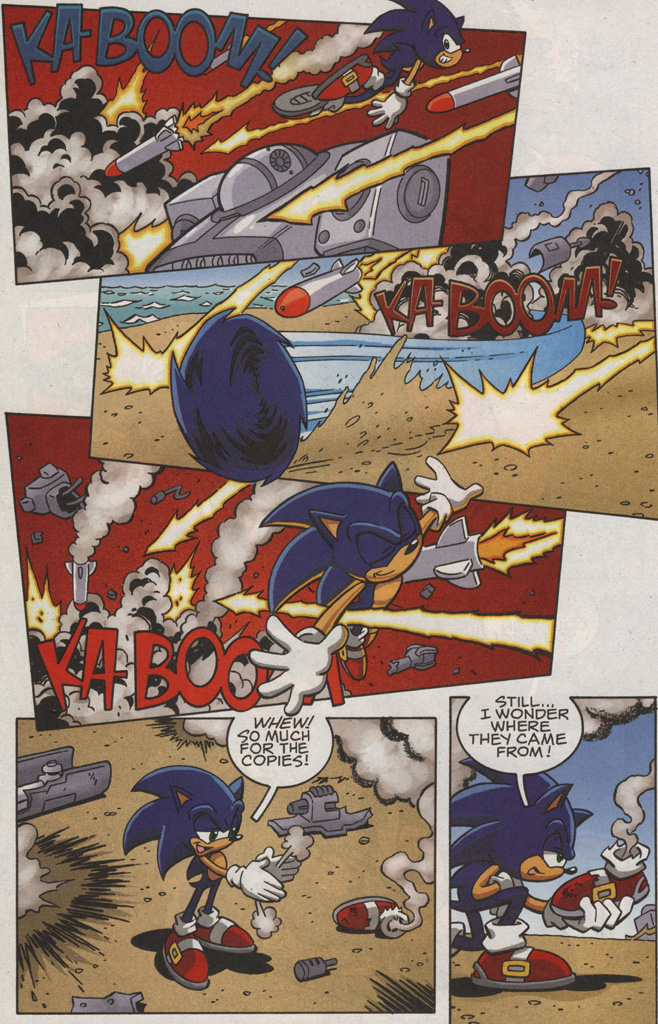 Read online Sonic X comic -  Issue #25 - 24
