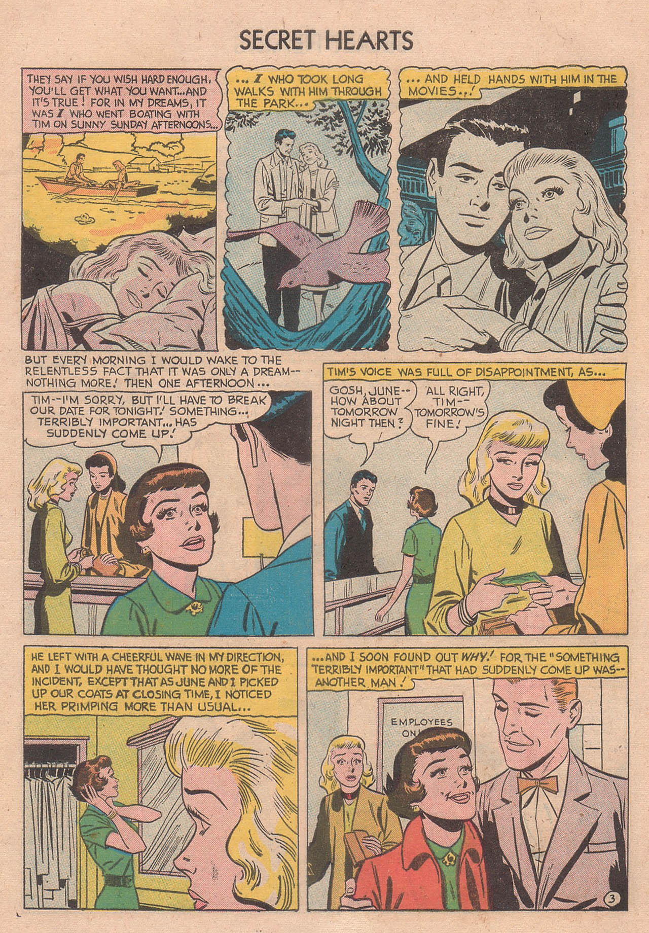 Read online Secret Hearts comic -  Issue #39 - 5