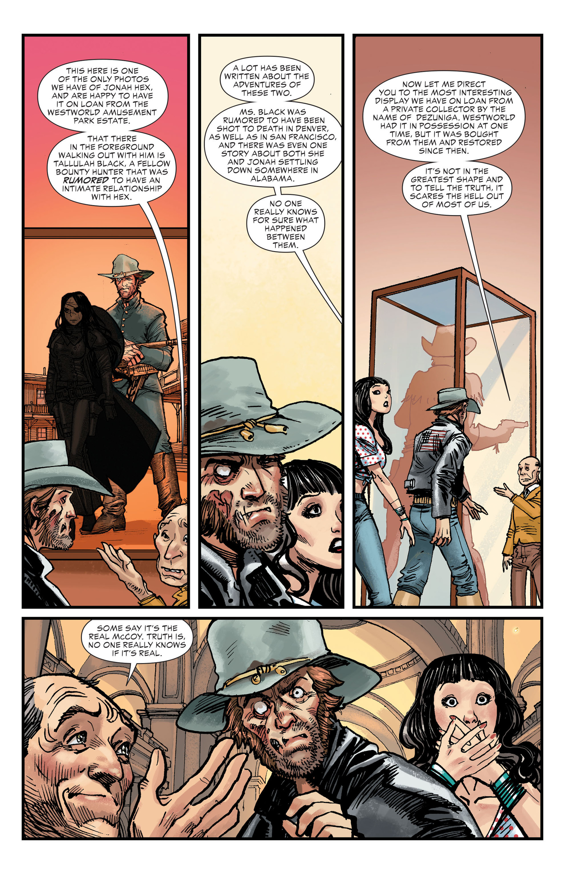 Read online All-Star Western (2011) comic -  Issue #27 - 16