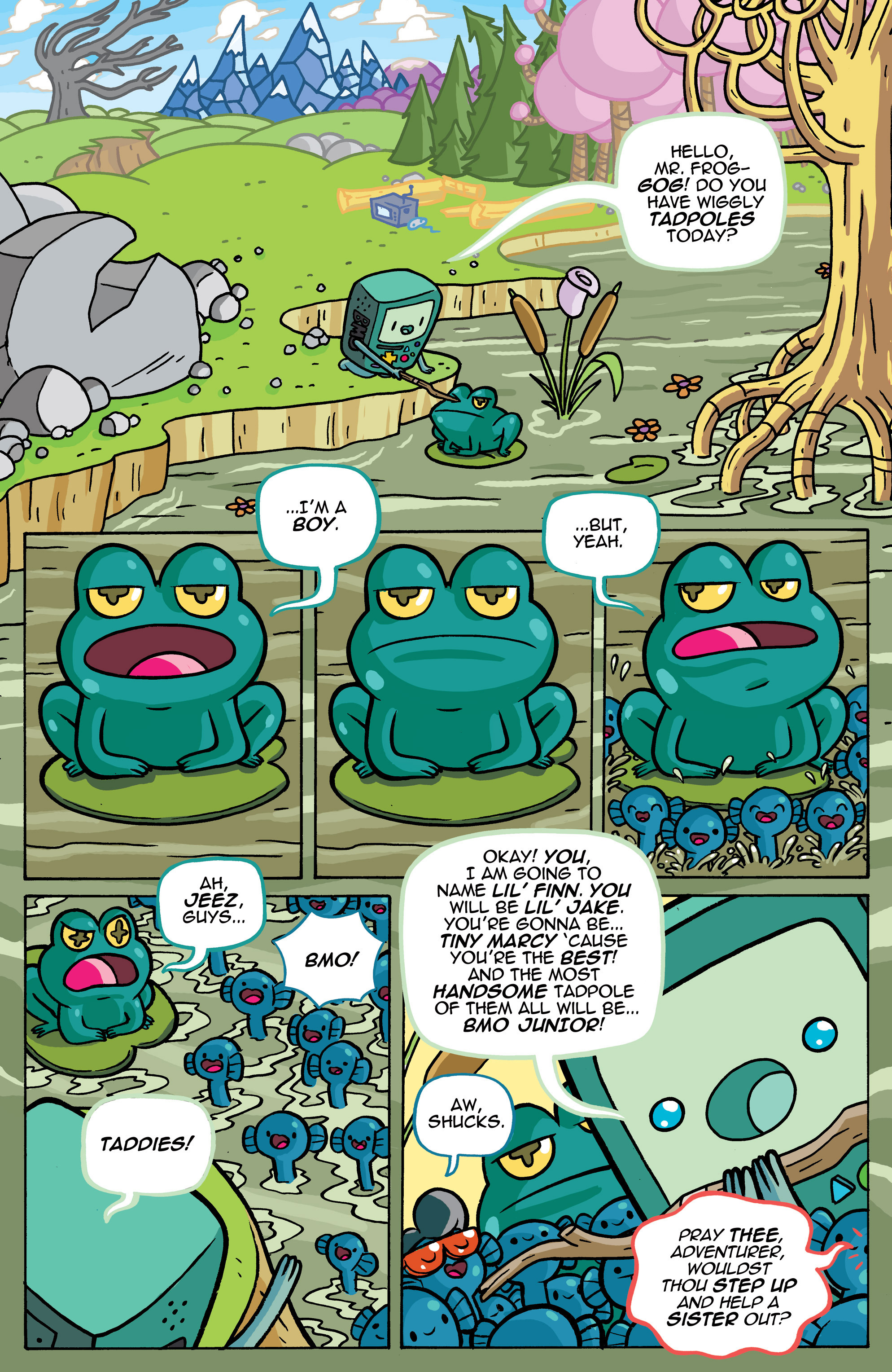 Read online Adventure Time comic -  Issue #42 - 20