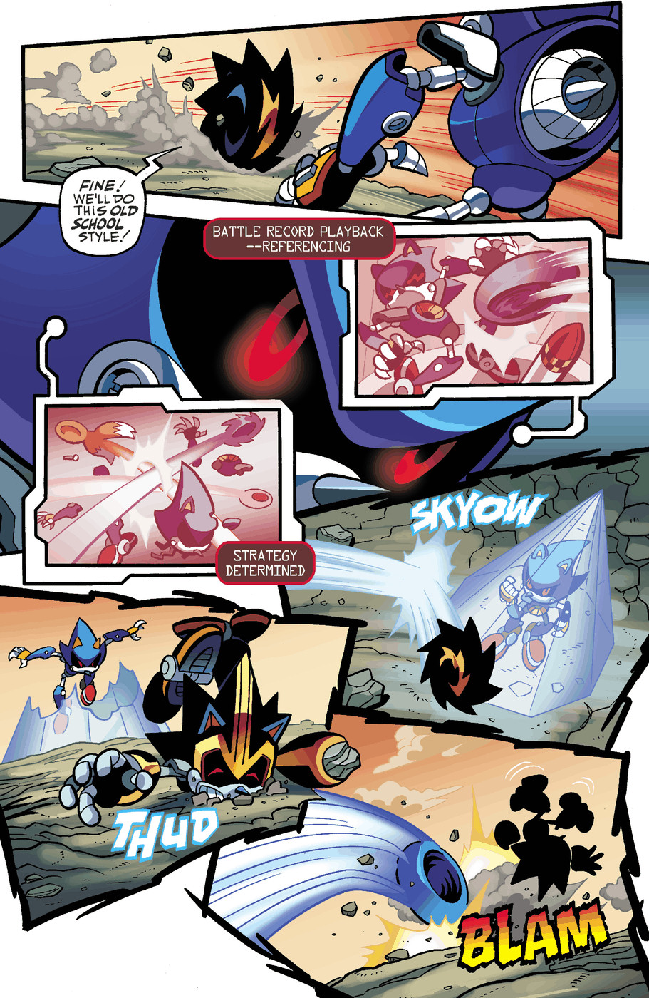 Read online Sonic Universe comic -  Issue #50 - 16