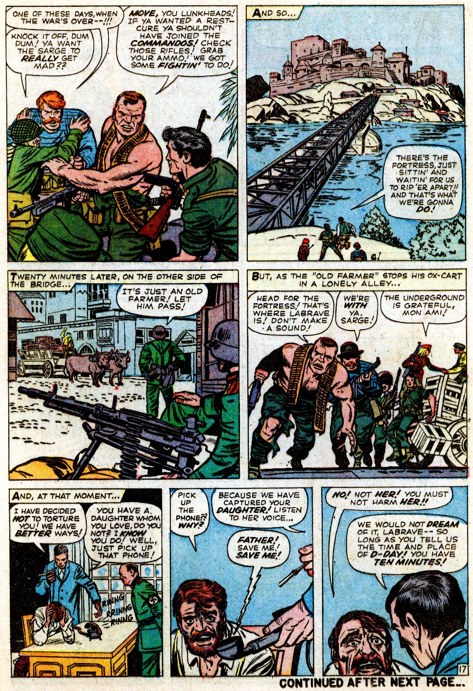 Read online Sgt. Fury comic -  Issue #1 - 24