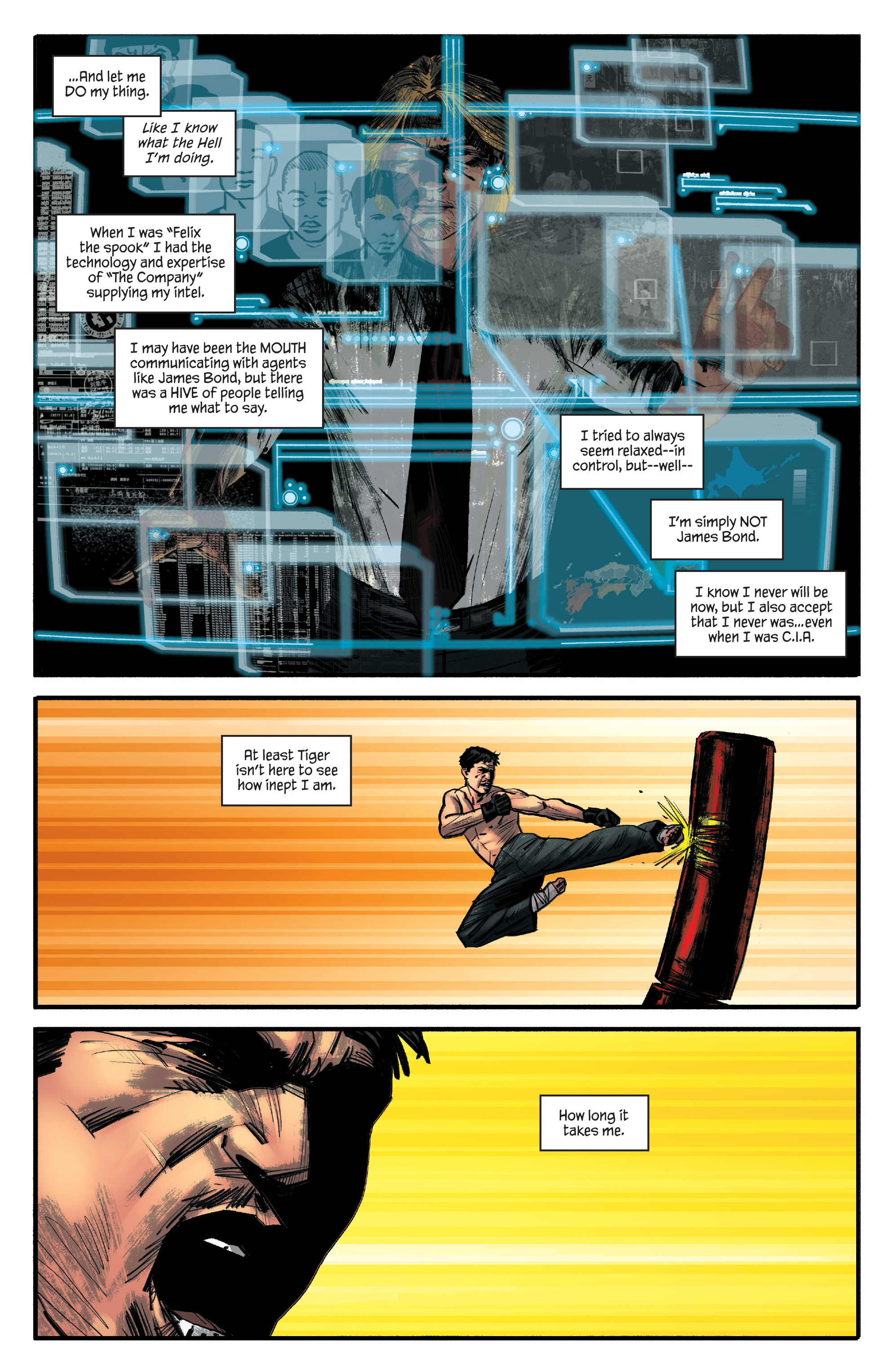 Read online James Bond: Felix Leiter comic -  Issue #4 - 11