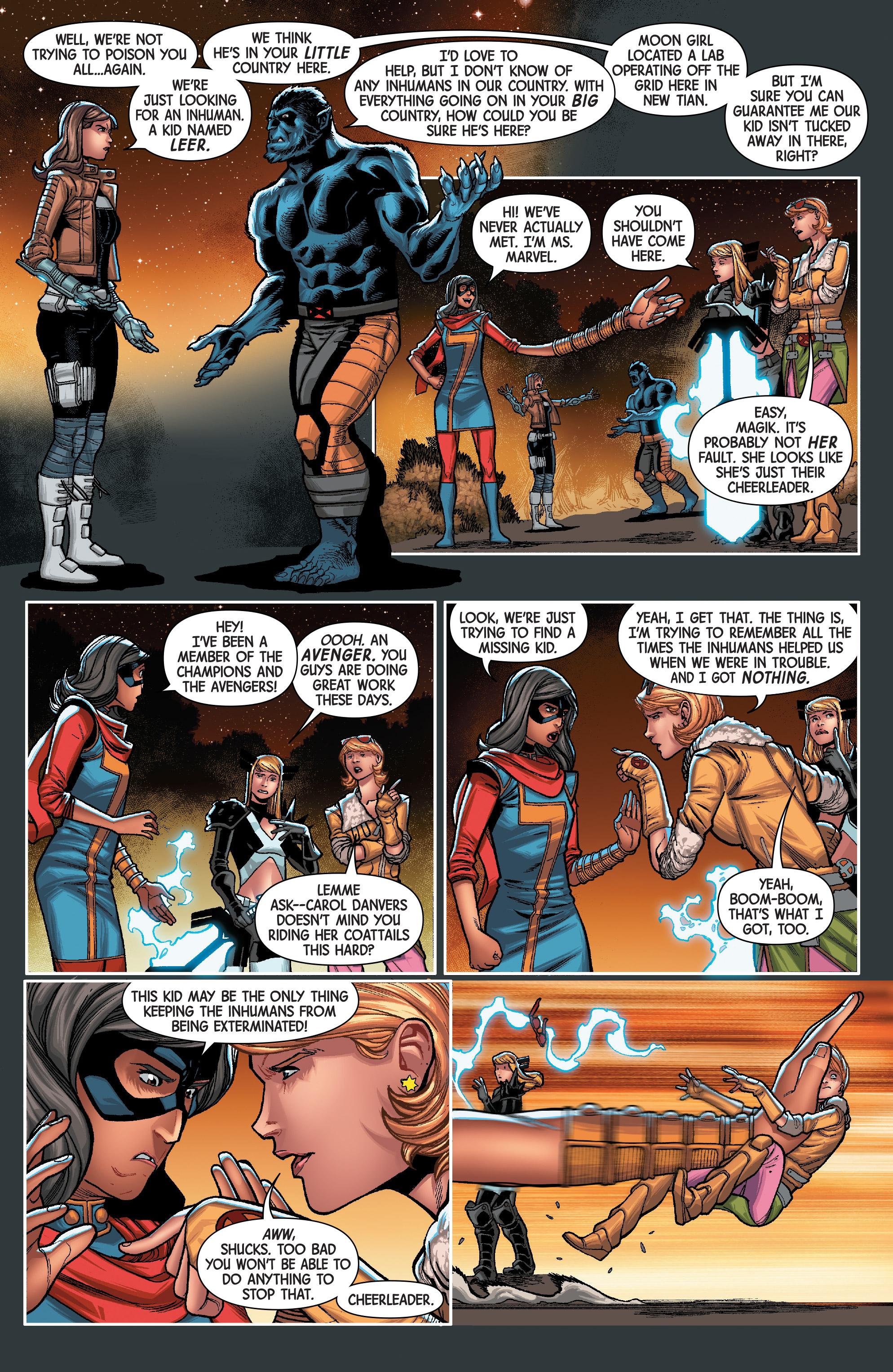 Read online Secret Warriors (2017) comic -  Issue #3 - 6