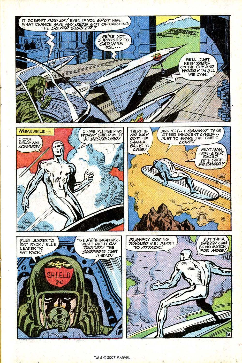 Read online Silver Surfer (1968) comic -  Issue #17 - 13