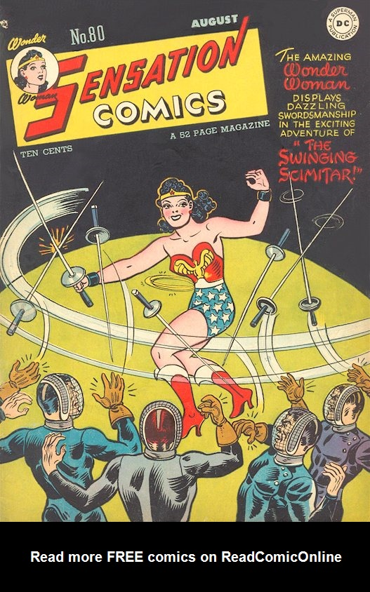 Read online Sensation (Mystery) Comics comic -  Issue #80 - 1